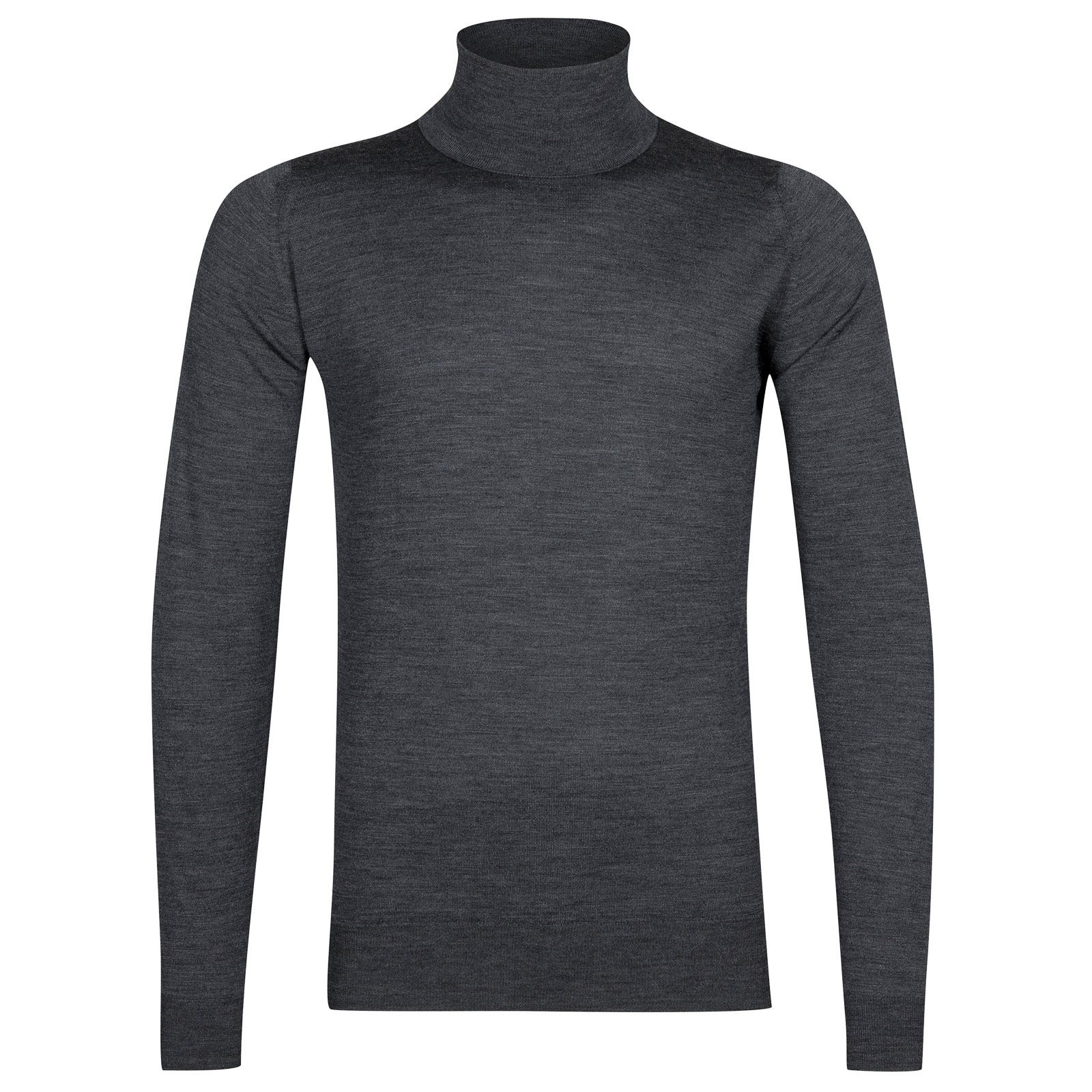 John Smedley cherwell Merino Wool Pullover in Charcoal-XXL
