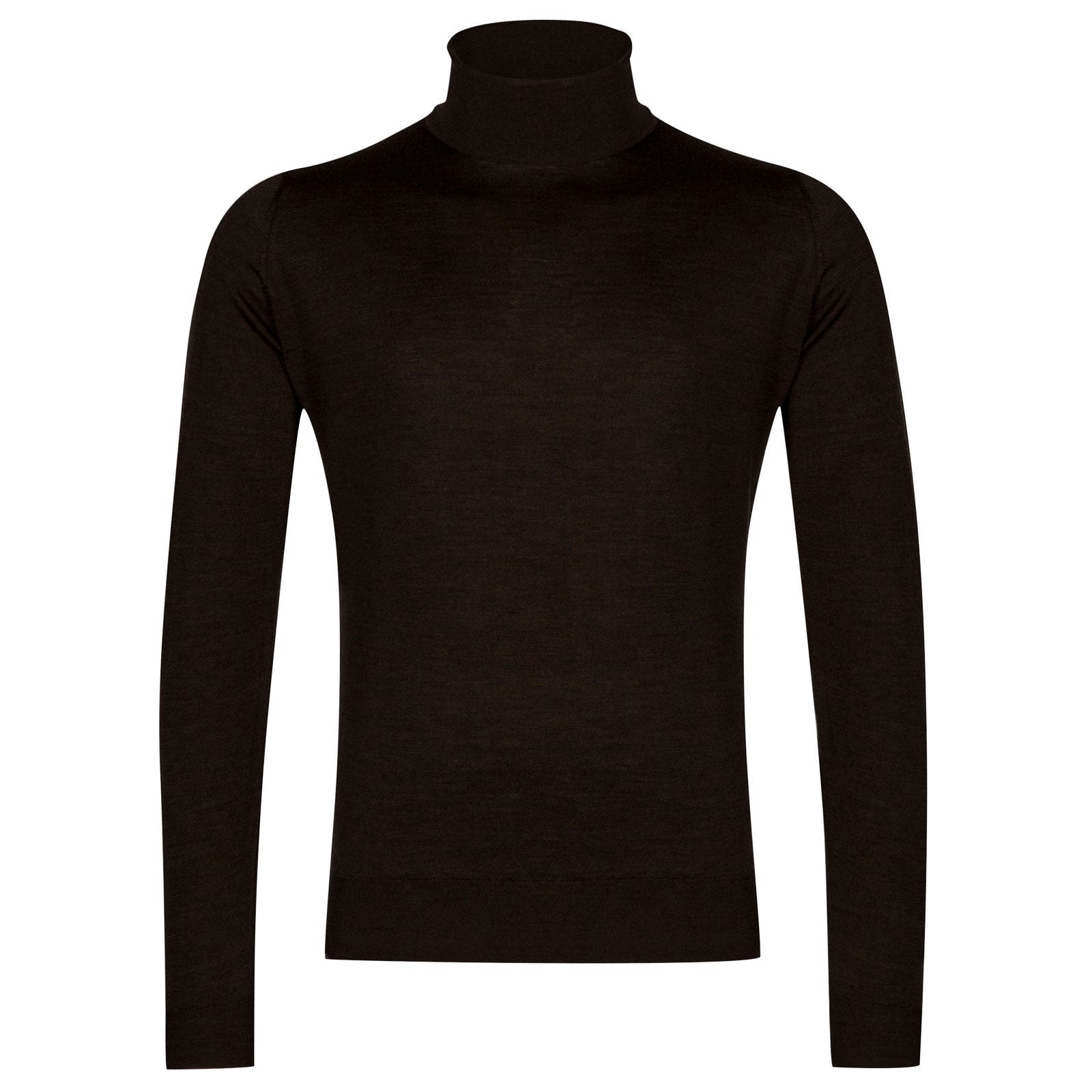 John Smedley cherwell Merino Wool Pullover in Chestnut-XXL