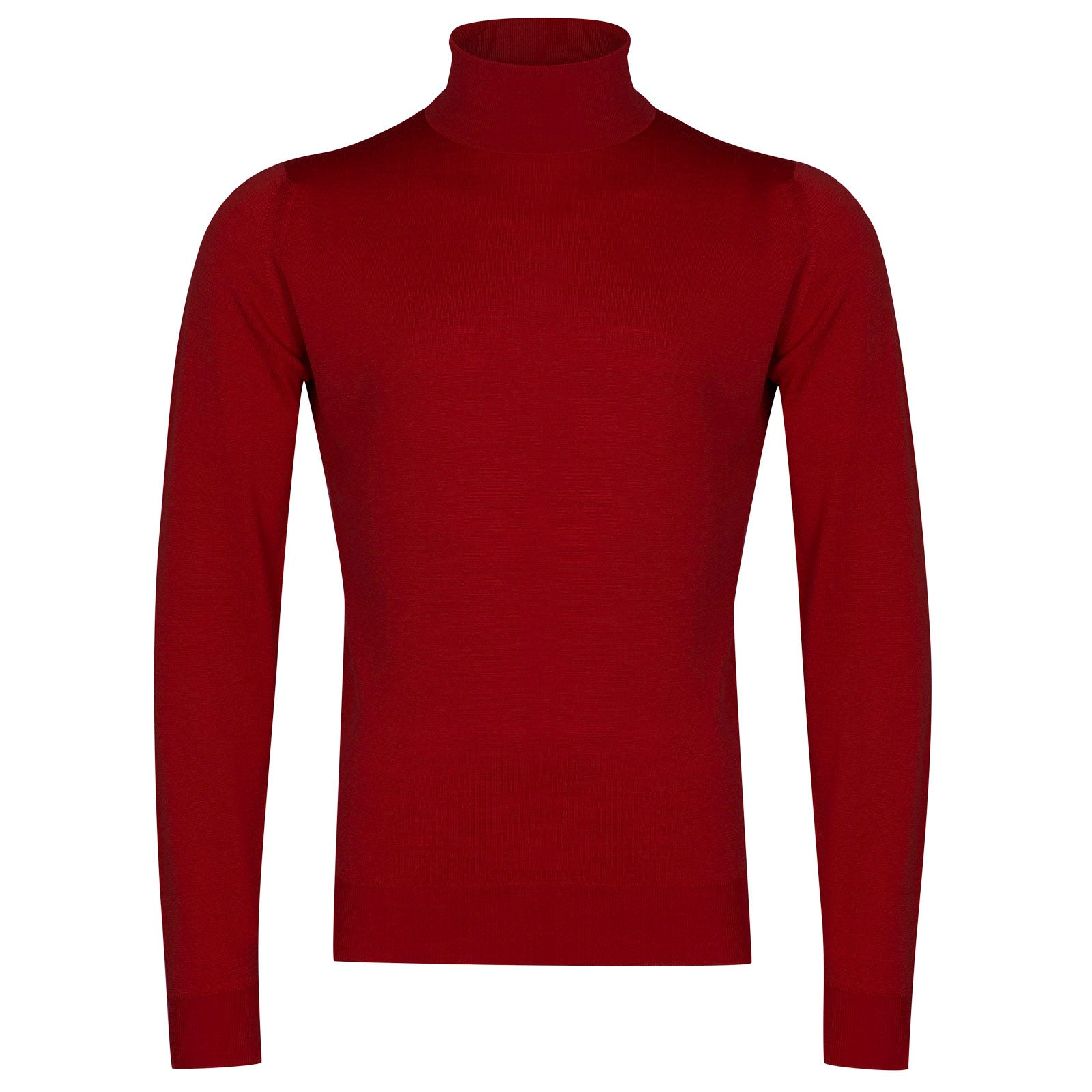 John Smedley Cherwell Merino Wool Pullover in Dandy Red-XL