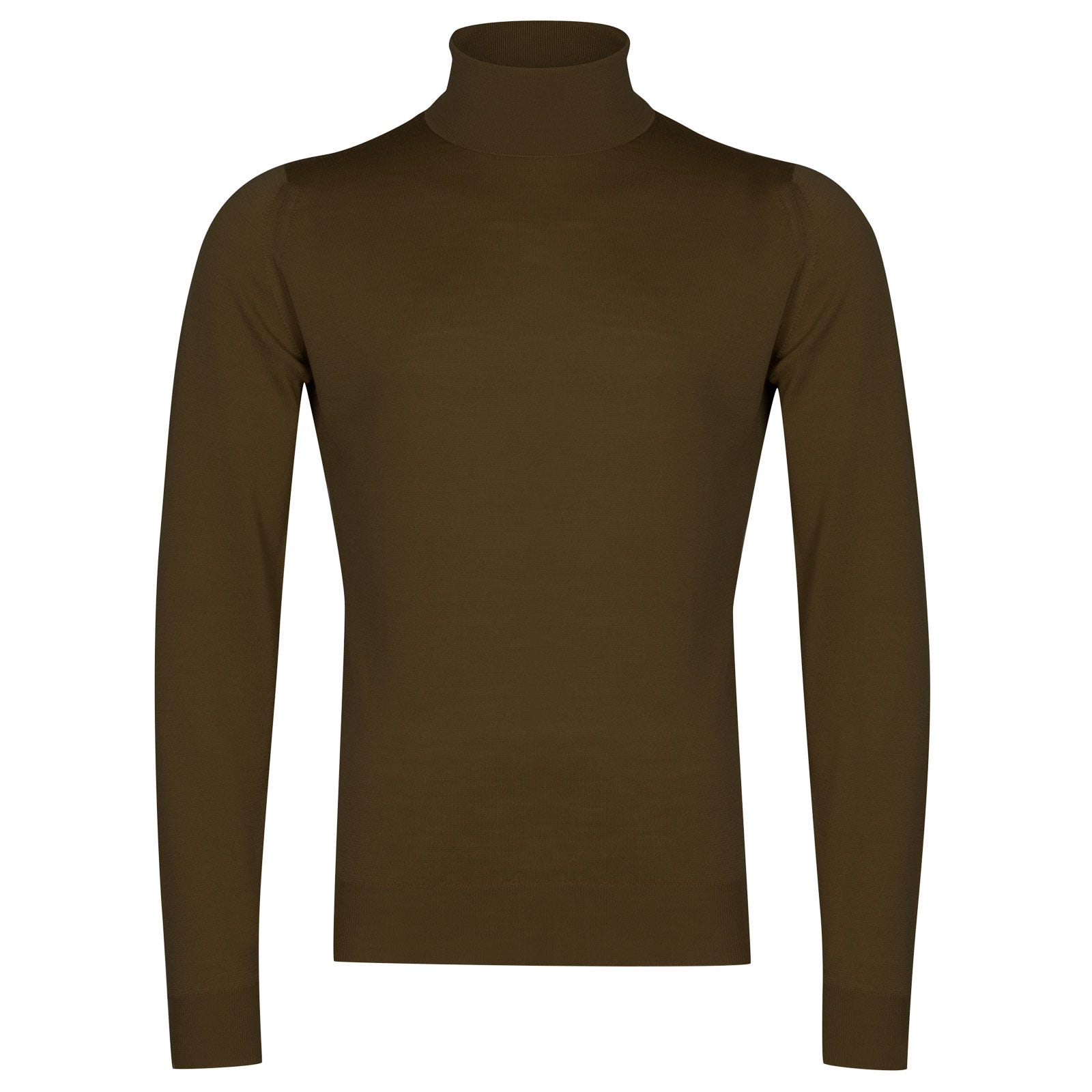 John Smedley cherwell Merino Wool Pullover in Kielder Green-M