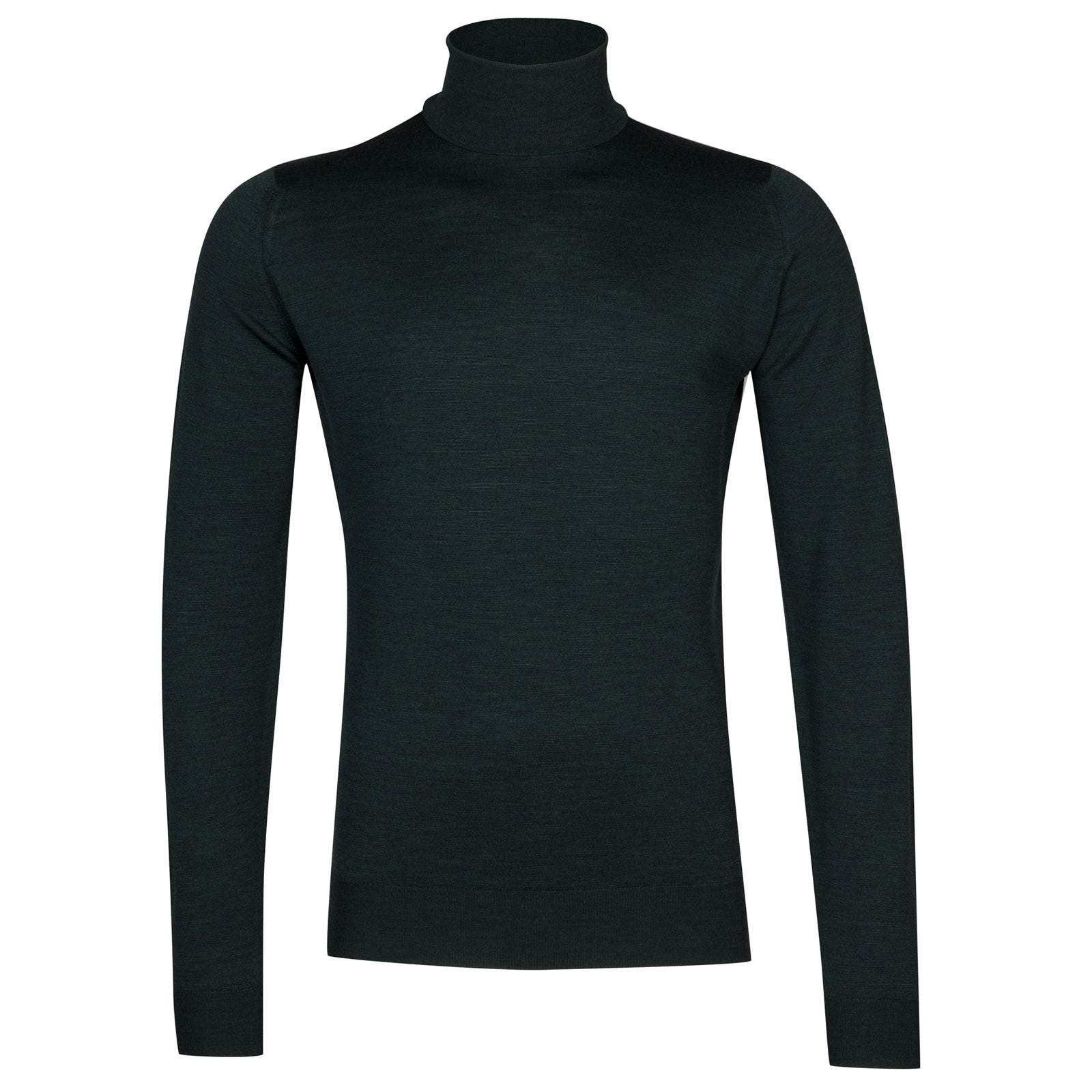 John Smedley cherwell Merino Wool Pullover in Racing Green-L