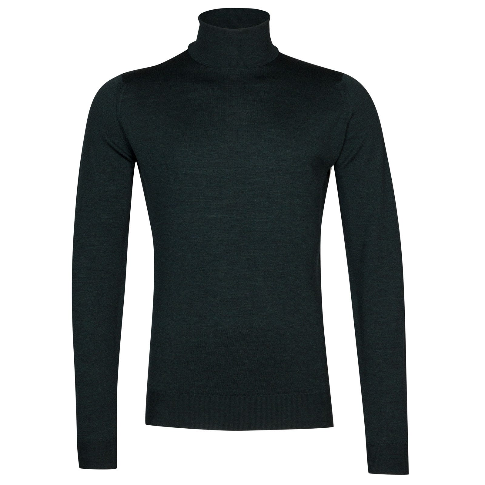 John Smedley Cherwell Merino Wool Pullover in Racing Green-S