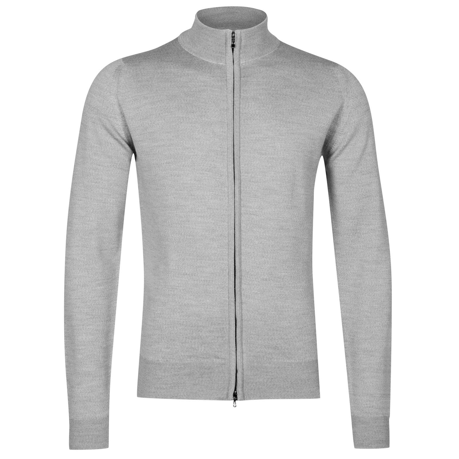 John Smedley Claygate Merino Wool Jacket in Bardot Grey-S