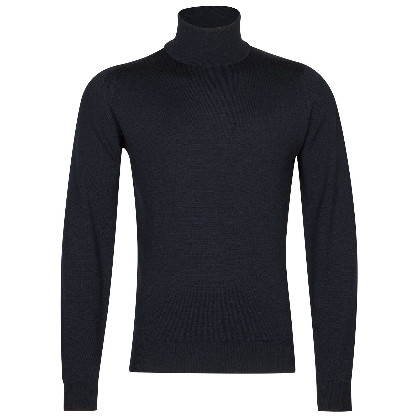 John Smedley connell Merino Wool Pullover in Midnight-XXL