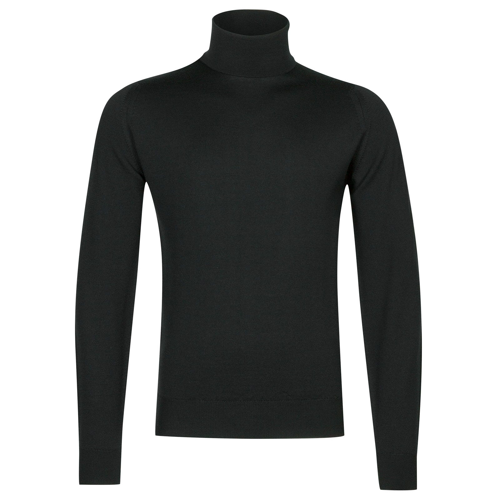 John Smedley connell Merino Wool Pullover in Racing Green-XL