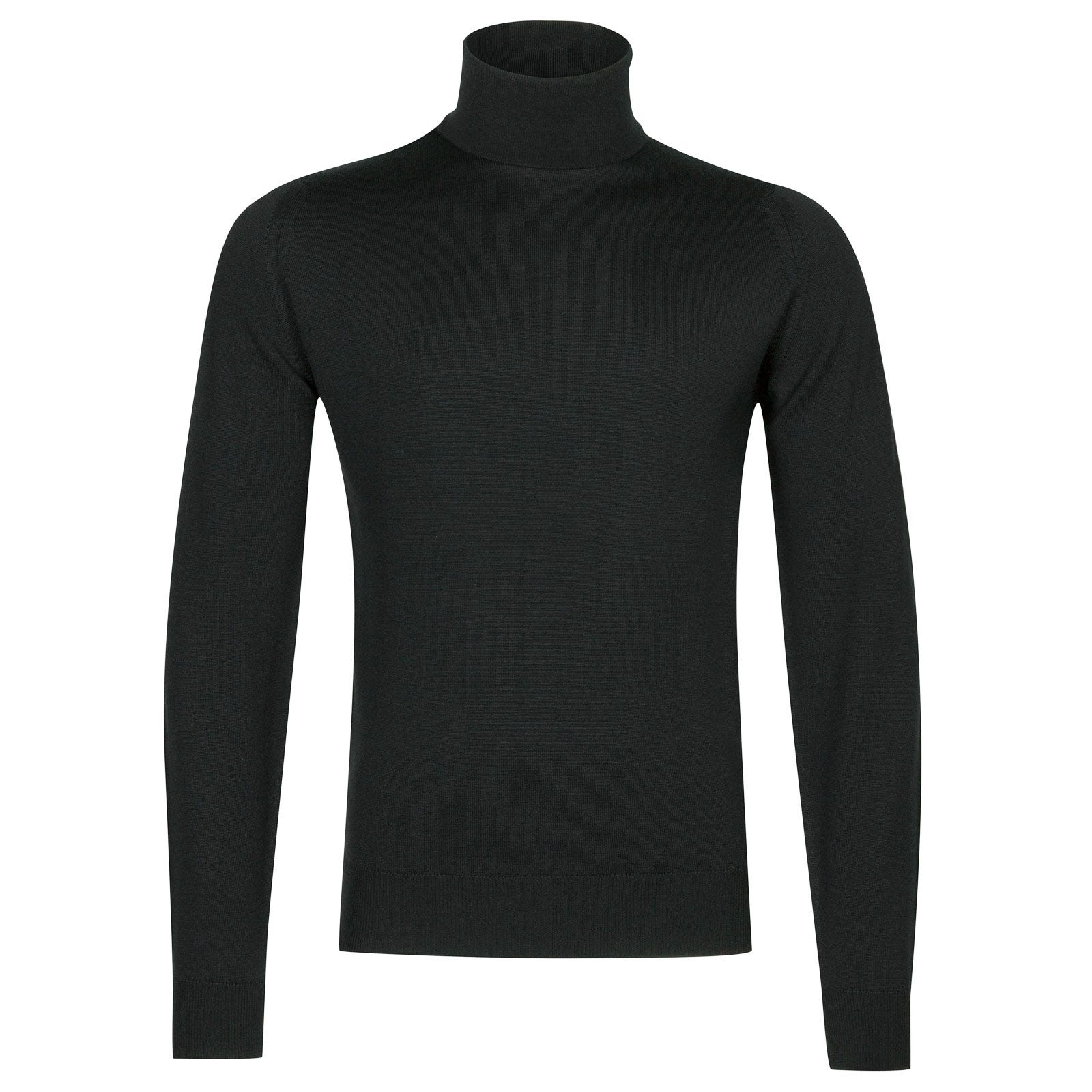 John Smedley Connell Merino Wool Pullover in Racing Green-S