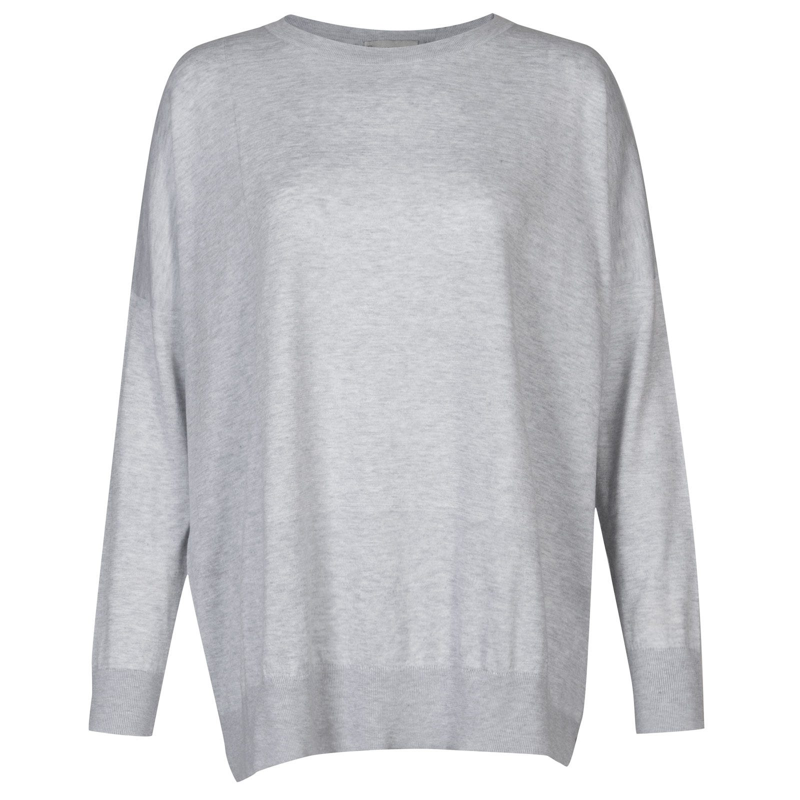 John Smedley Coper in Feather Grey-S