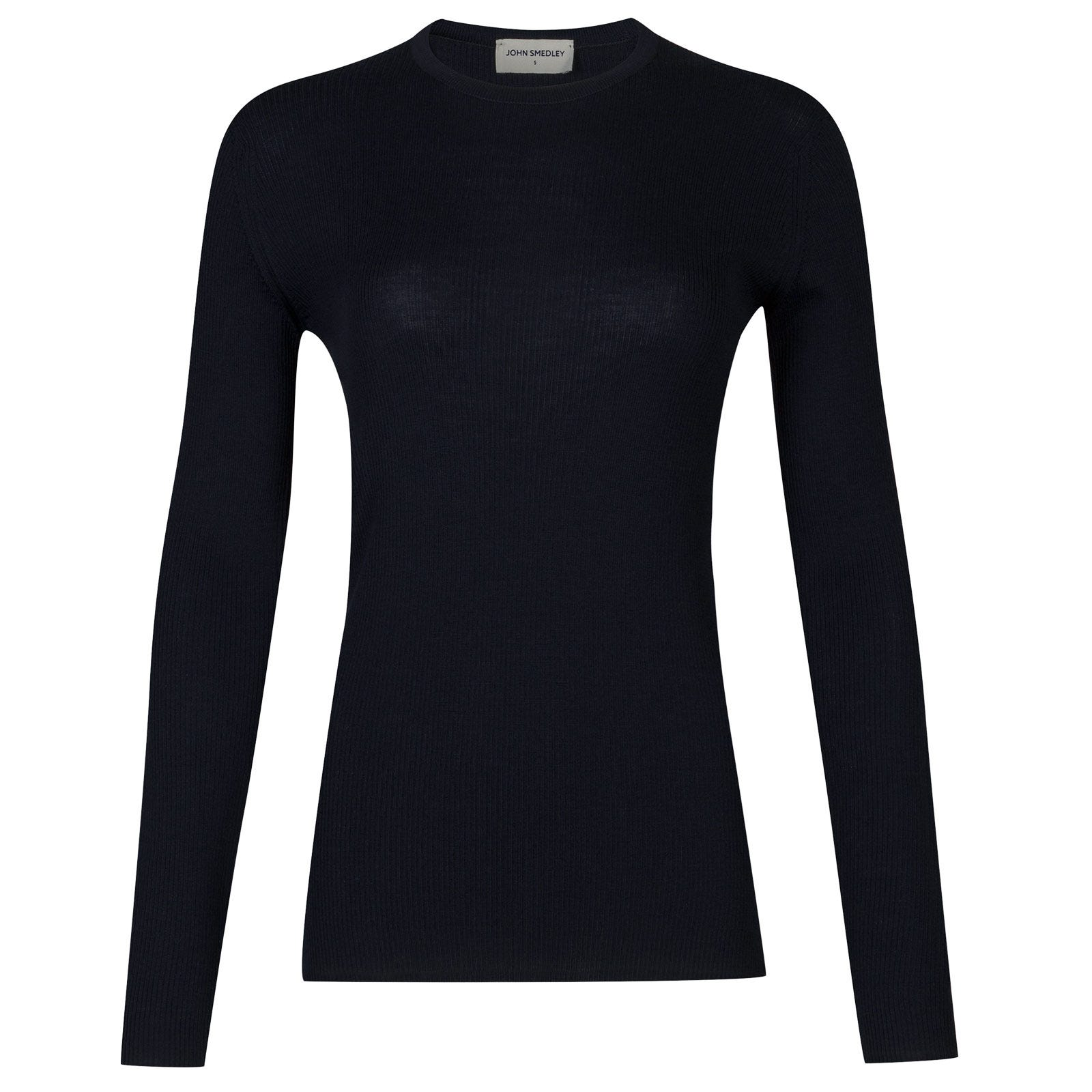 John Smedley corey Merino Wool Sweater in Midnight-XL