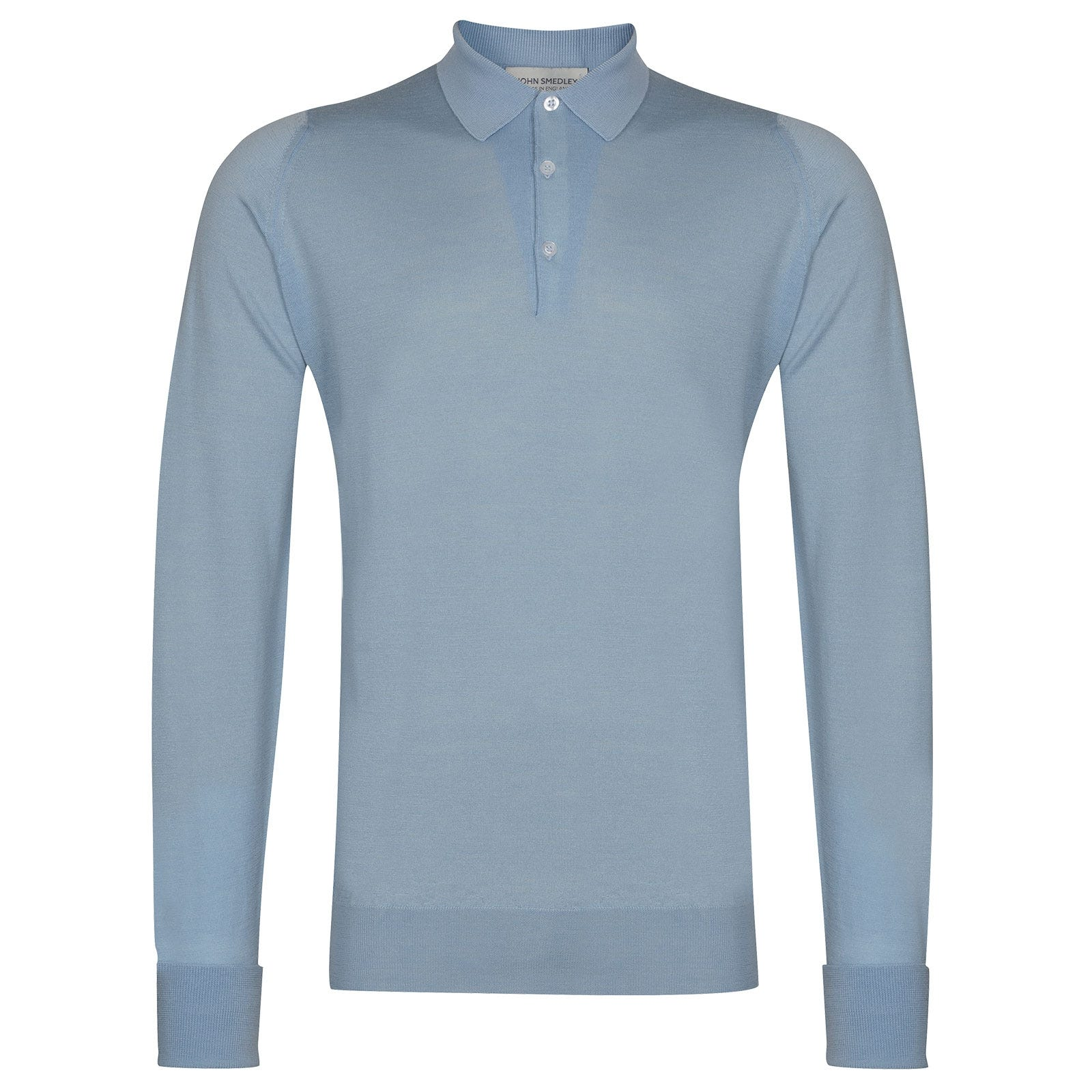 John Smedley Cotswold in Dusk Blue Shirt-SML