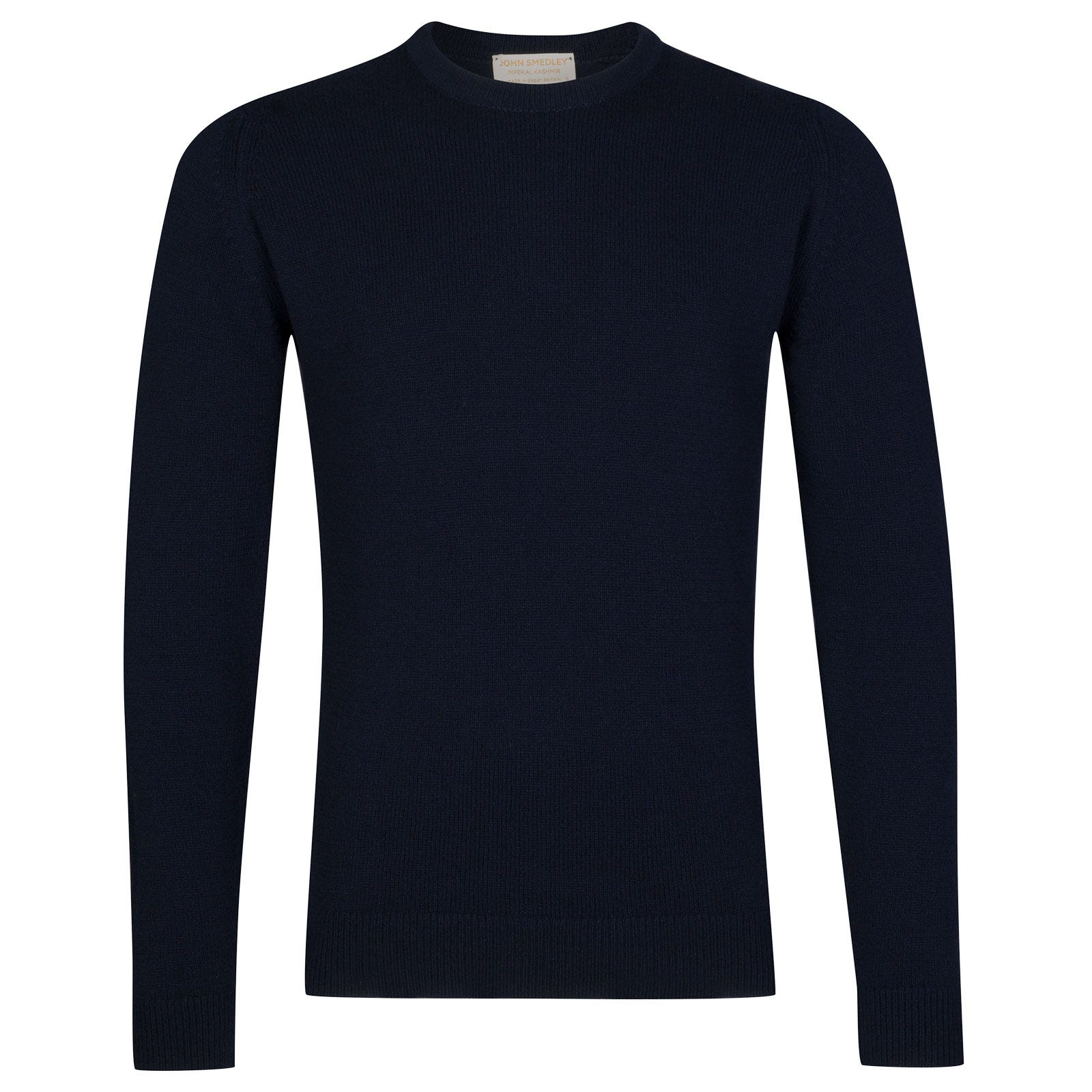 John Smedley Crowford Wool and Cashmere Pullover in Midnight-L