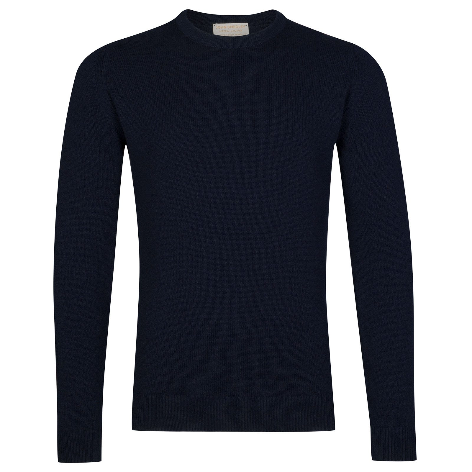 John Smedley Crowford Wool and Cashmere Pullover in Midnight-XXL
