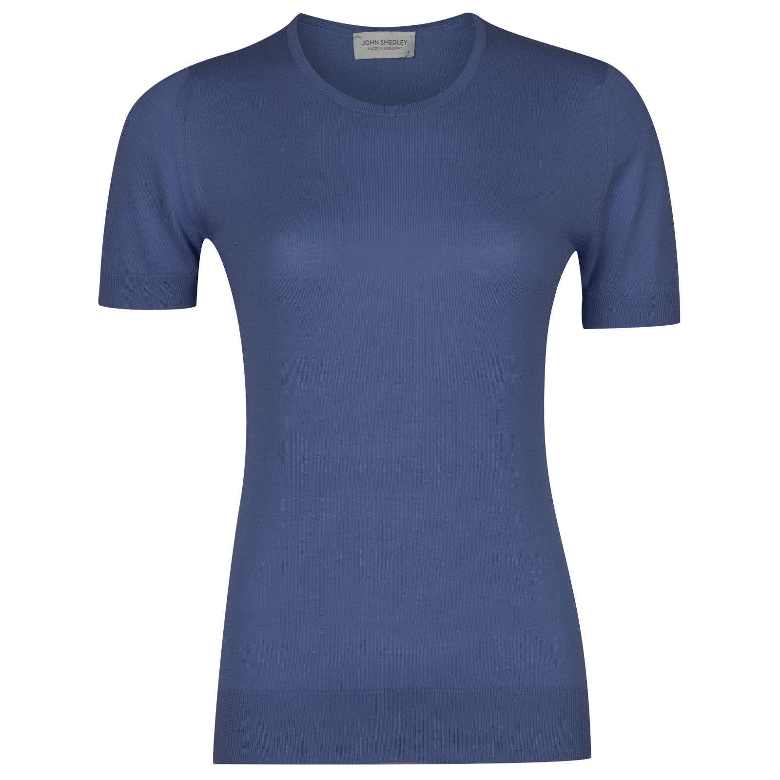 John Smedley Daniella in Blue Iris Sweater-XLG