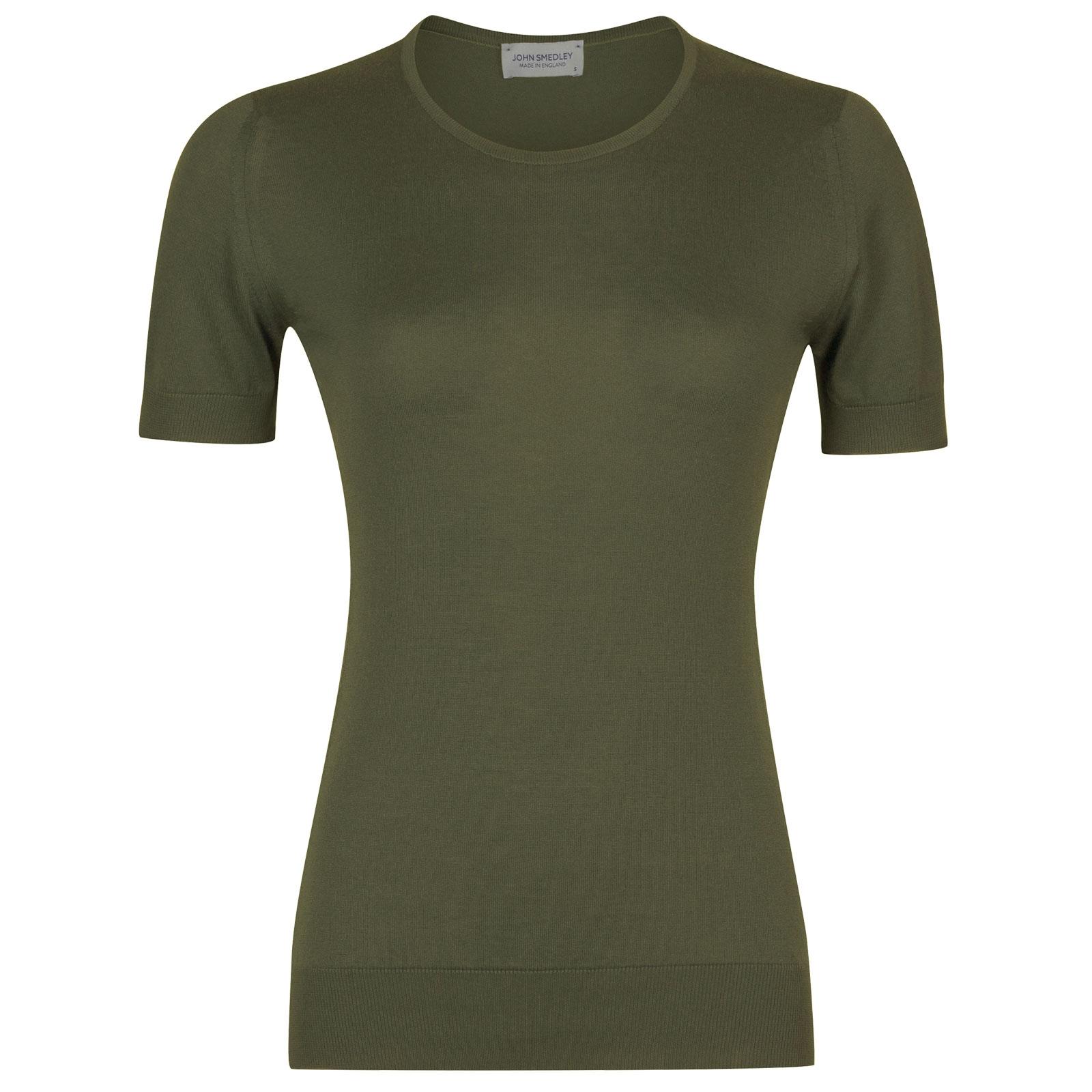 John Smedley Daniella in Sepal Green Sweater-XLG