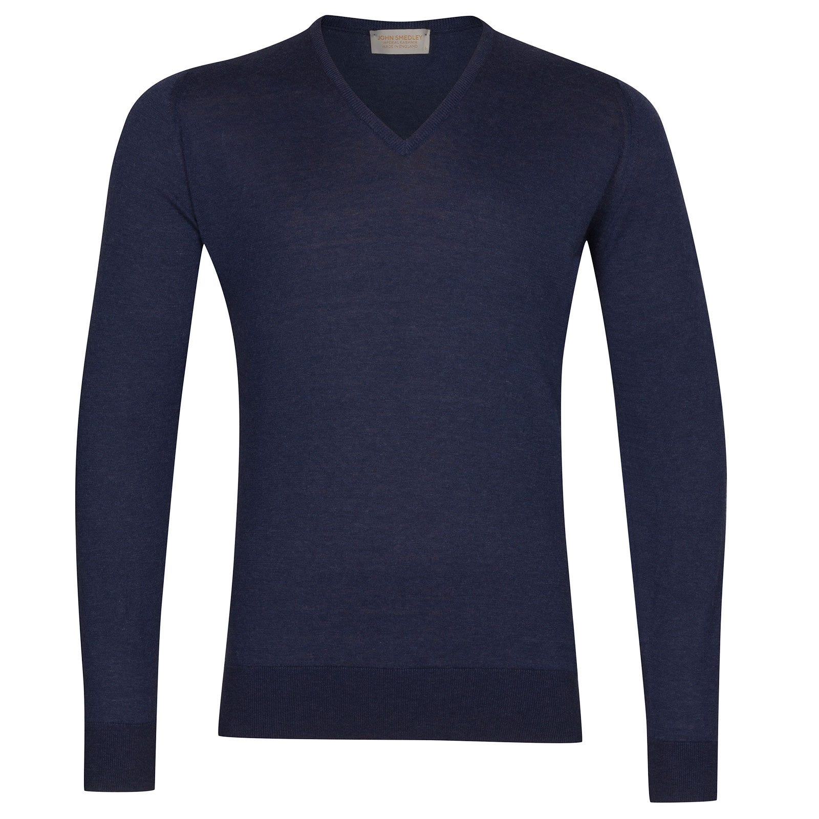 John Smedley Dayton Sea Island Cotton and Cashmere Pullover in