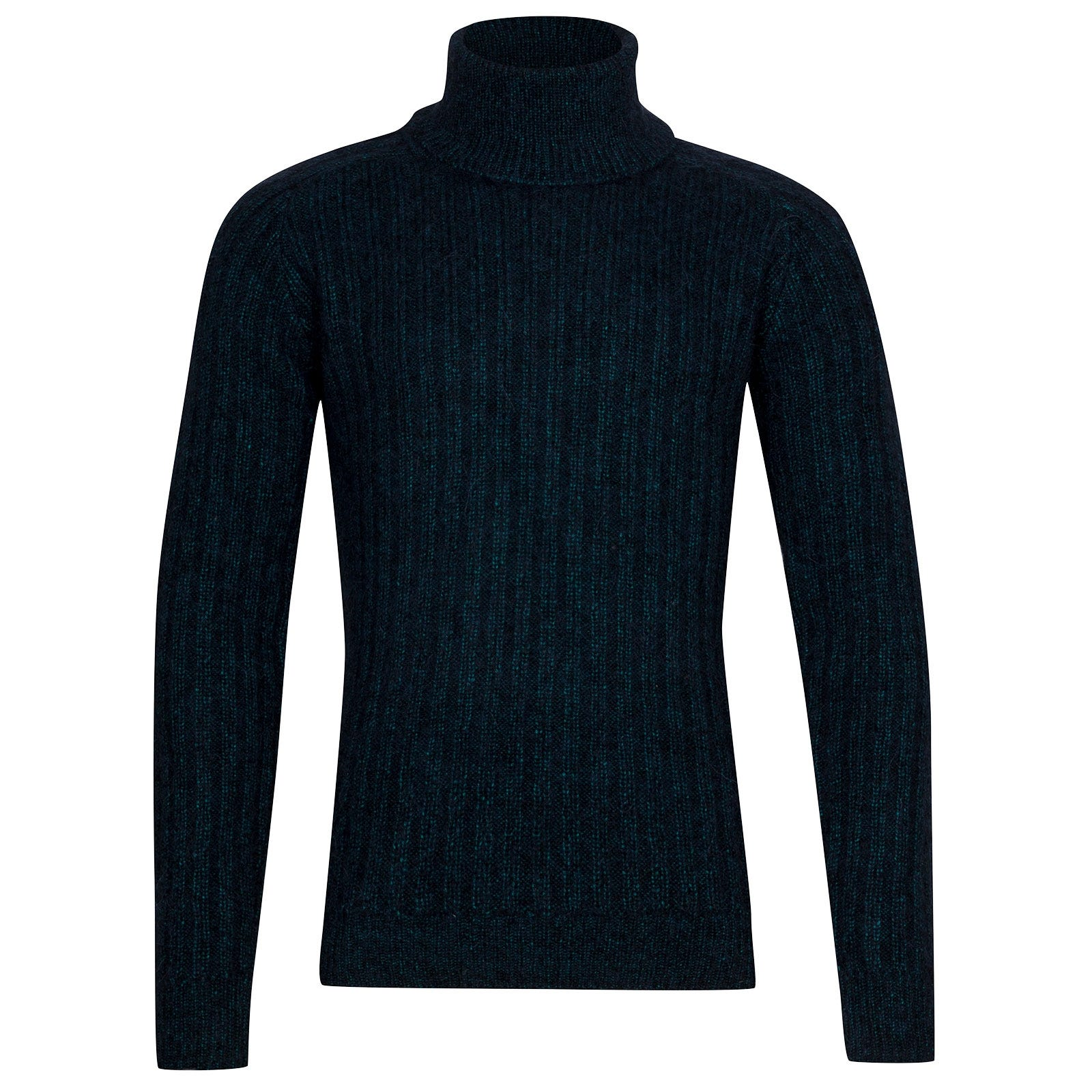 John Smedley Degree Viscose Blend Pullover In Boron Green-S