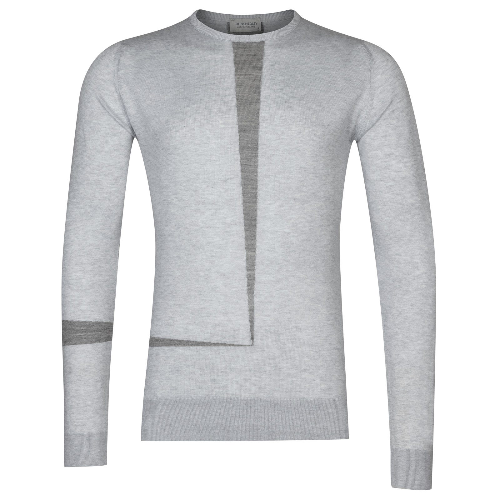 John Smedley Denys in Feather Grey-S