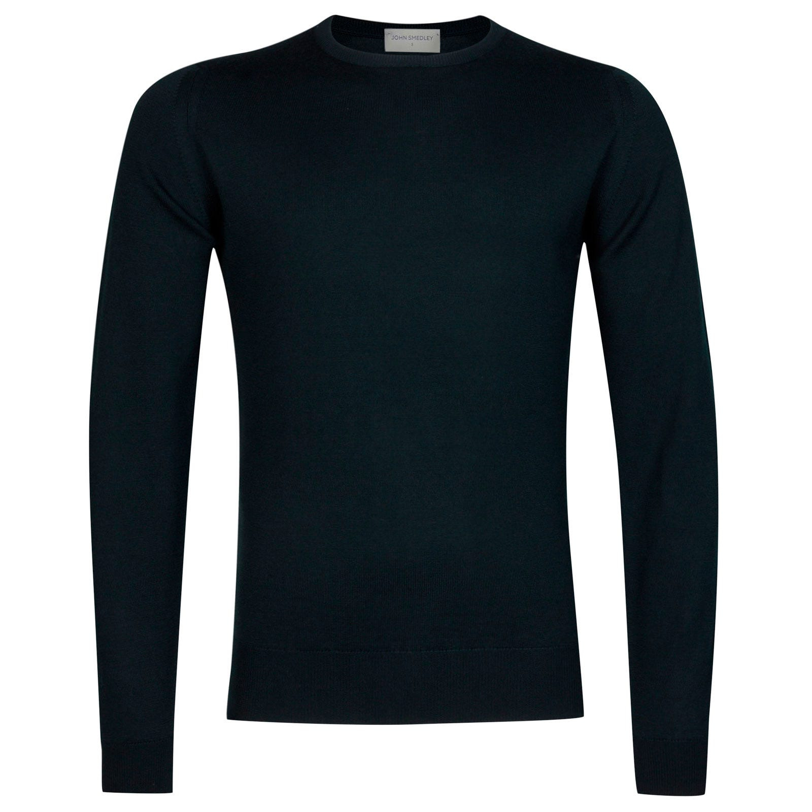 John Smedley farhill Merino Wool Pullover in Racing Green-XL