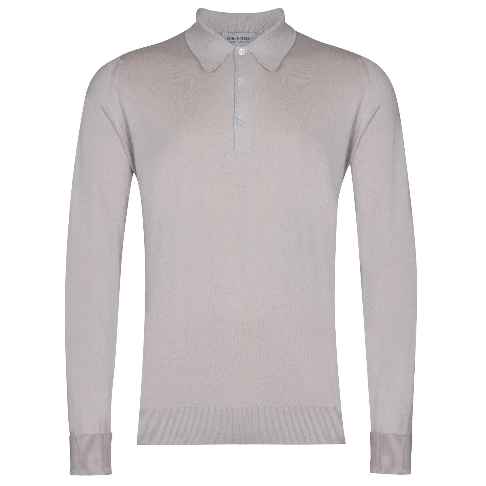 John Smedley Finchley in Brunel Beige Shirt-XLG