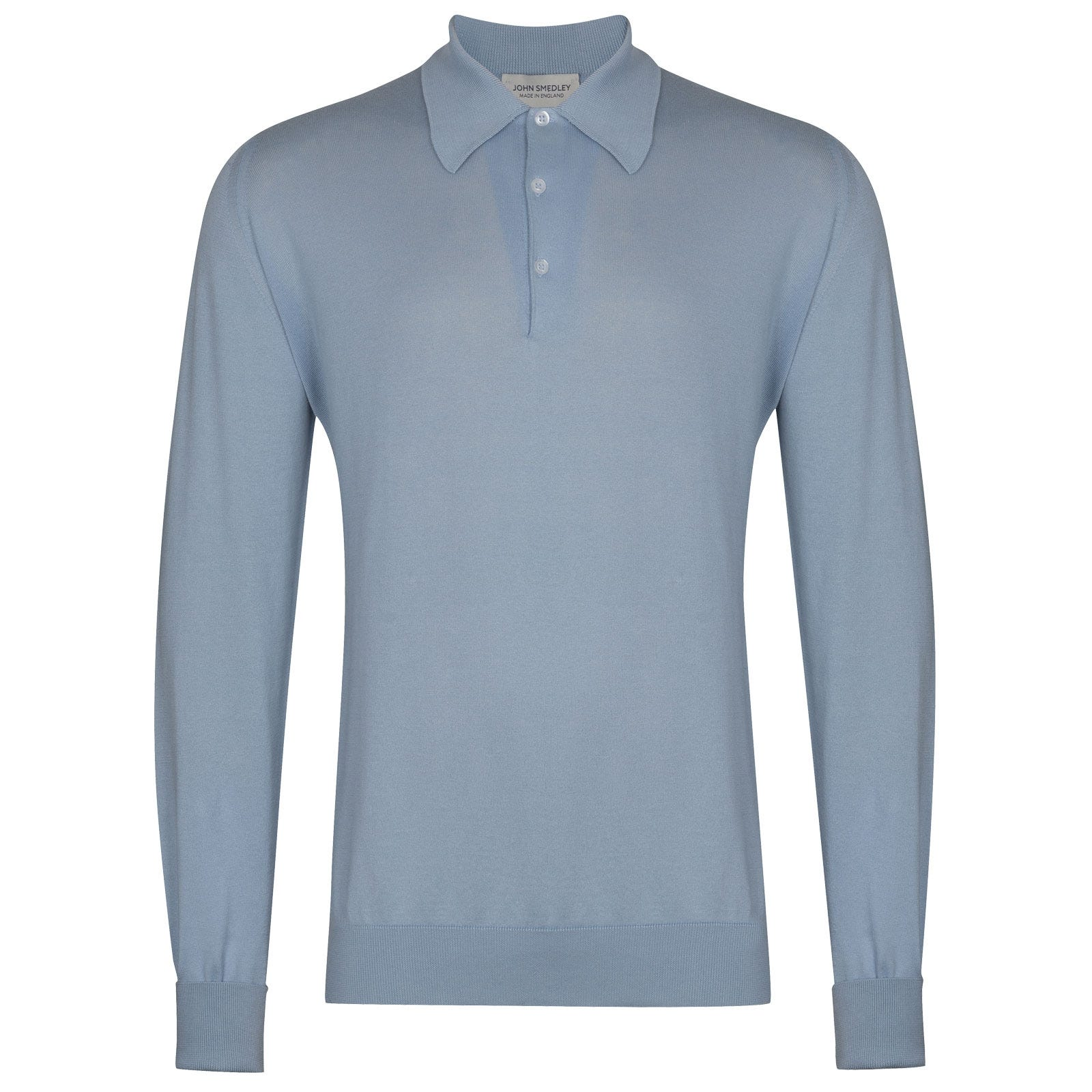 John Smedley Finchley in Dusk Blue Shirt-LGE