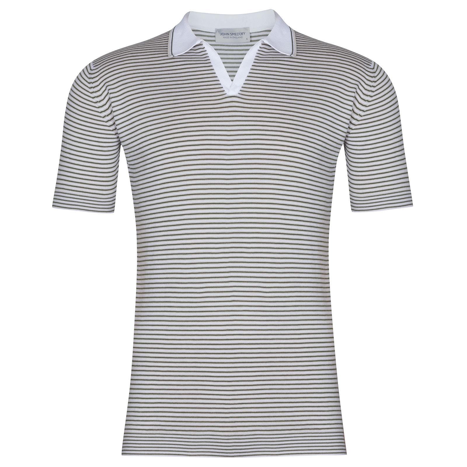 John Smedley Garin in White Shirt-LGE