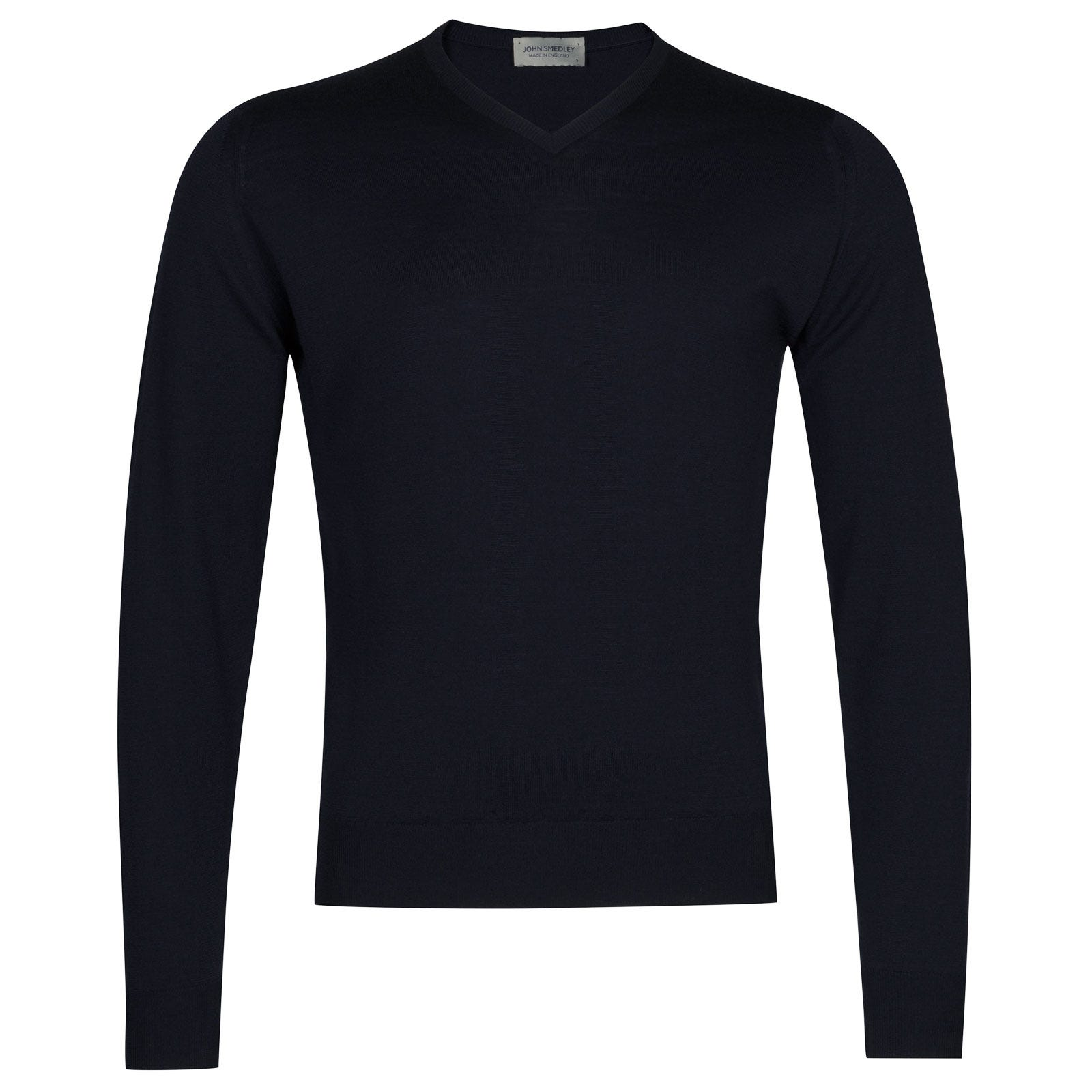John Smedley genoa Merino Wool Pullover in Midnight-XL