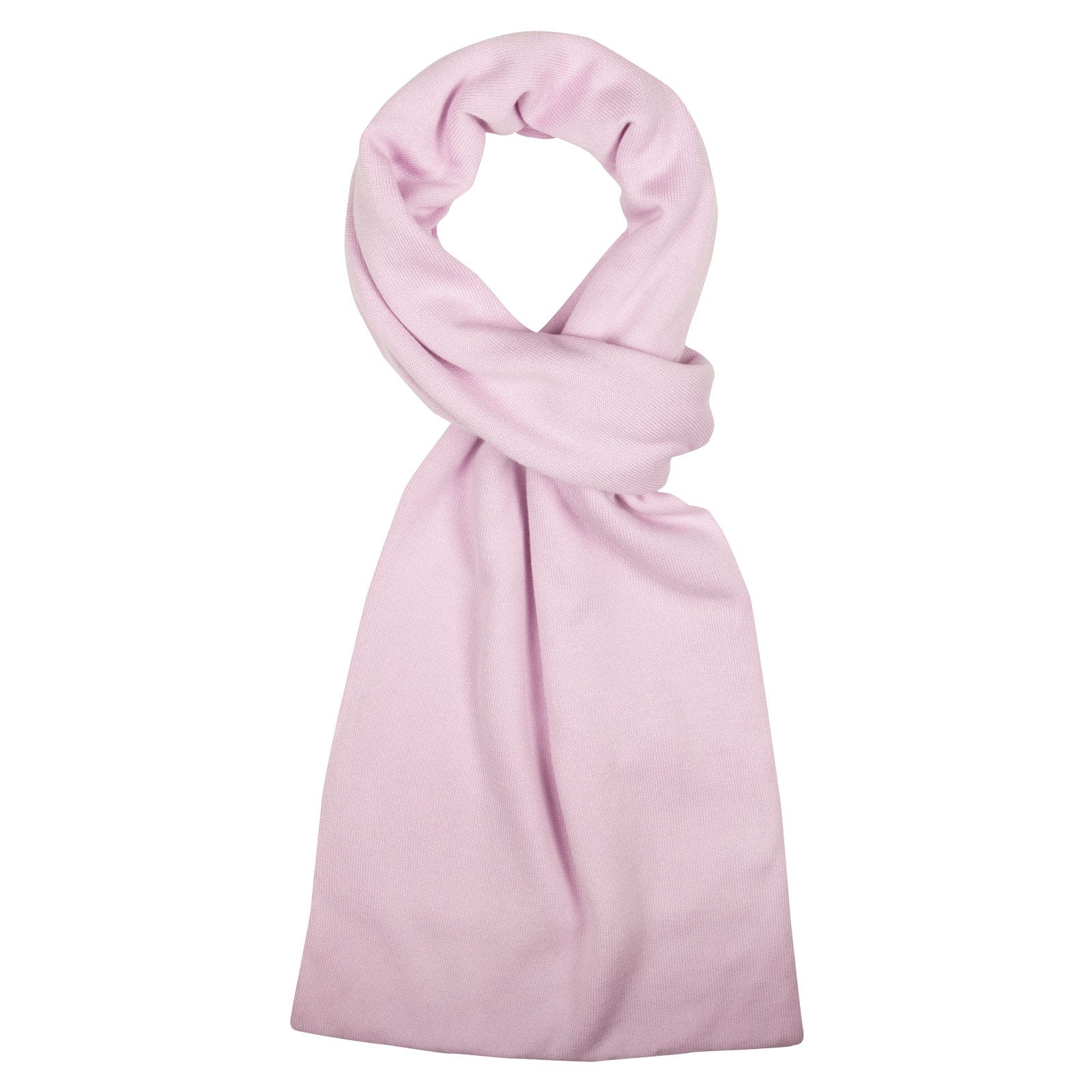 John Smedley Glide in Pink Blossom Scarf-ONE