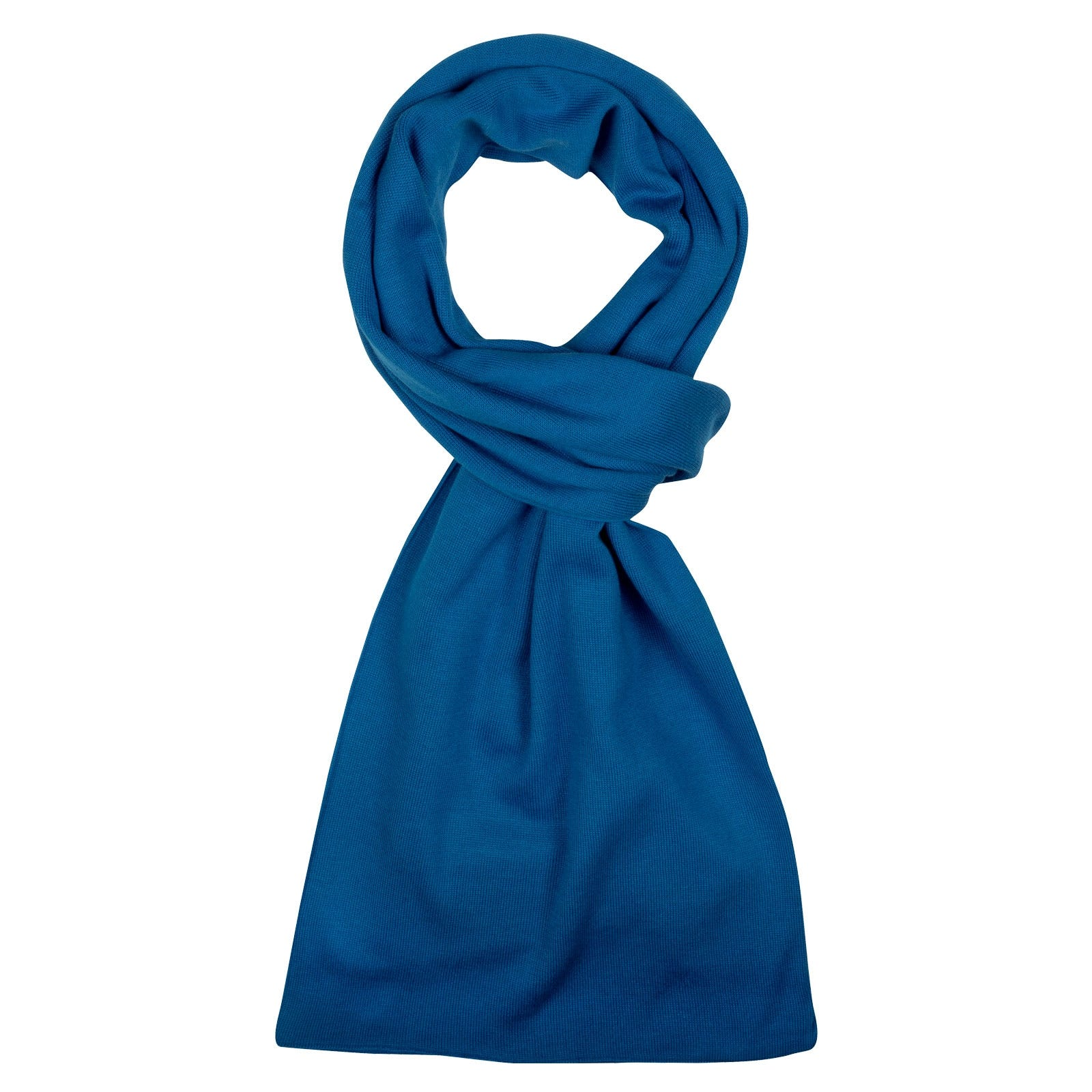 John Smedley Glide in Statice Blue Scarf-ONE