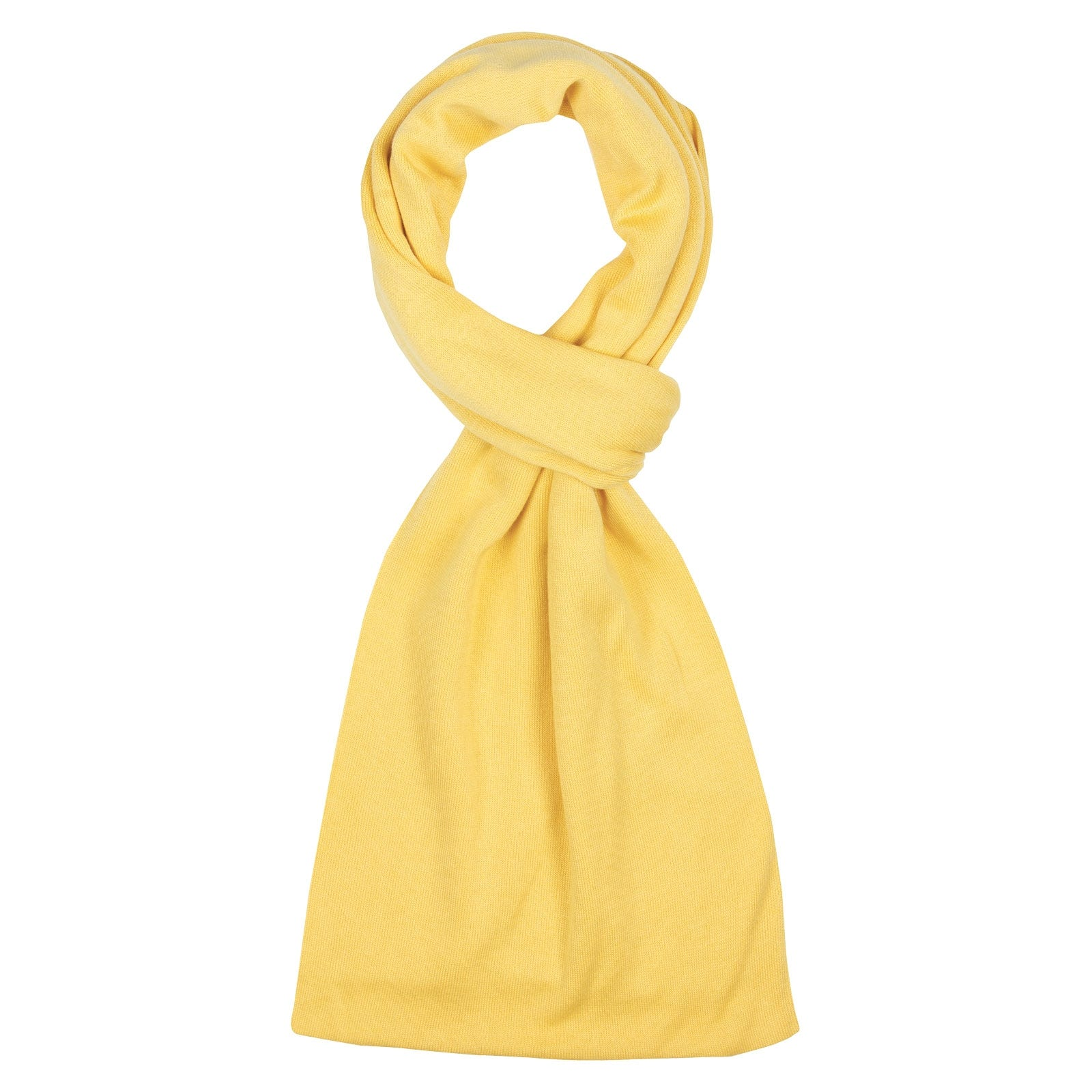 John Smedley Glide in Yellow Bloom Scarf-ONE