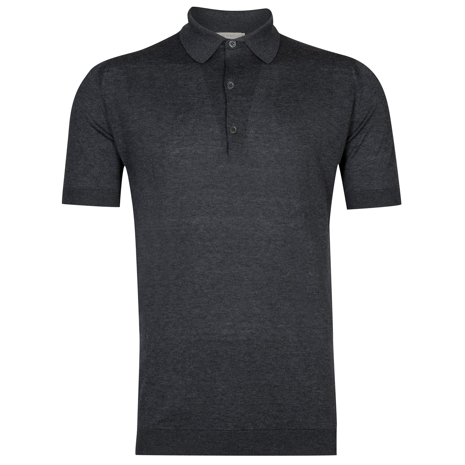 John Smedley Haddon in Charcoal Shirt-XLG