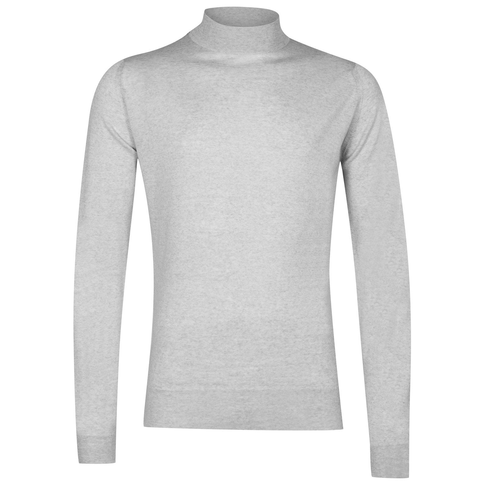 John Smedley harcourt Merino Wool Pullover in Bardot Grey-XL