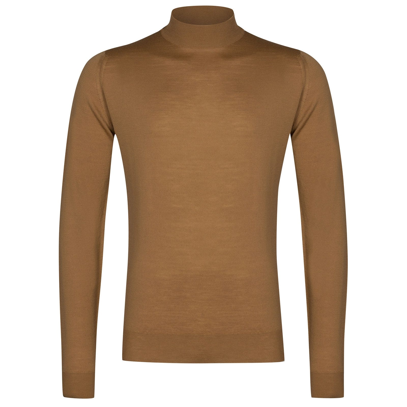 John Smedley Harcourt in Camel Pullover-SML
