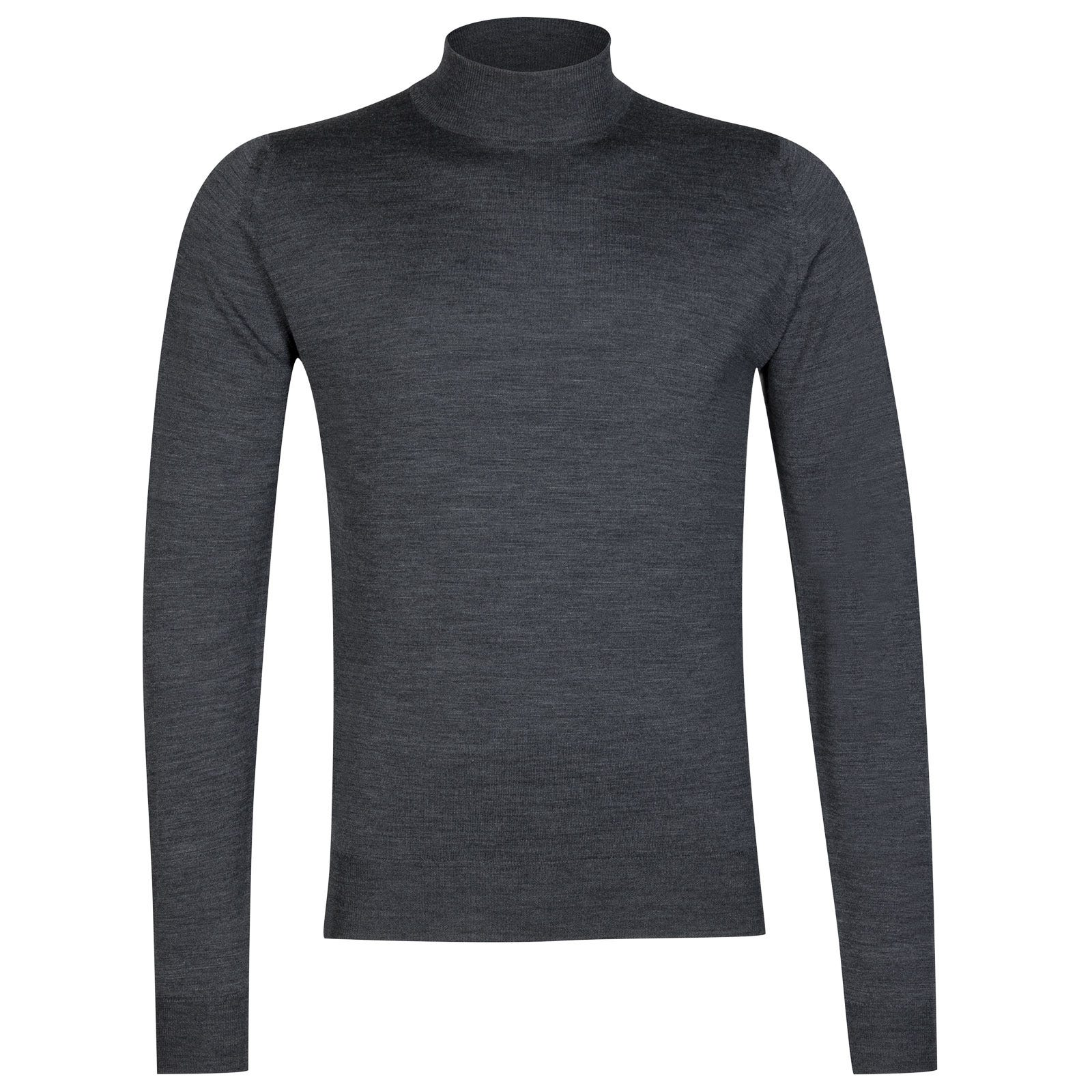 John Smedley harcourt Merino Wool Pullover in Charcoal-XXL