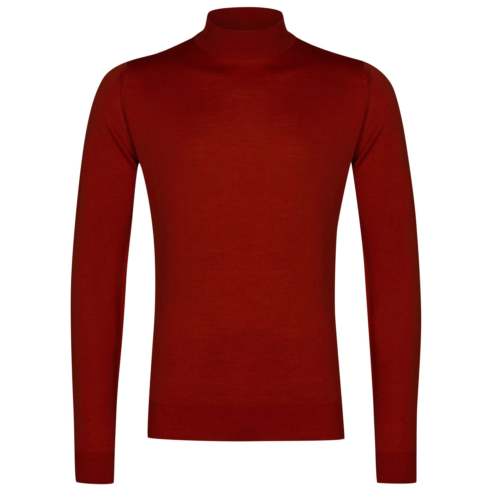 John Smedley Harcourt Merino Wool Pullover in Dandy Red-XL