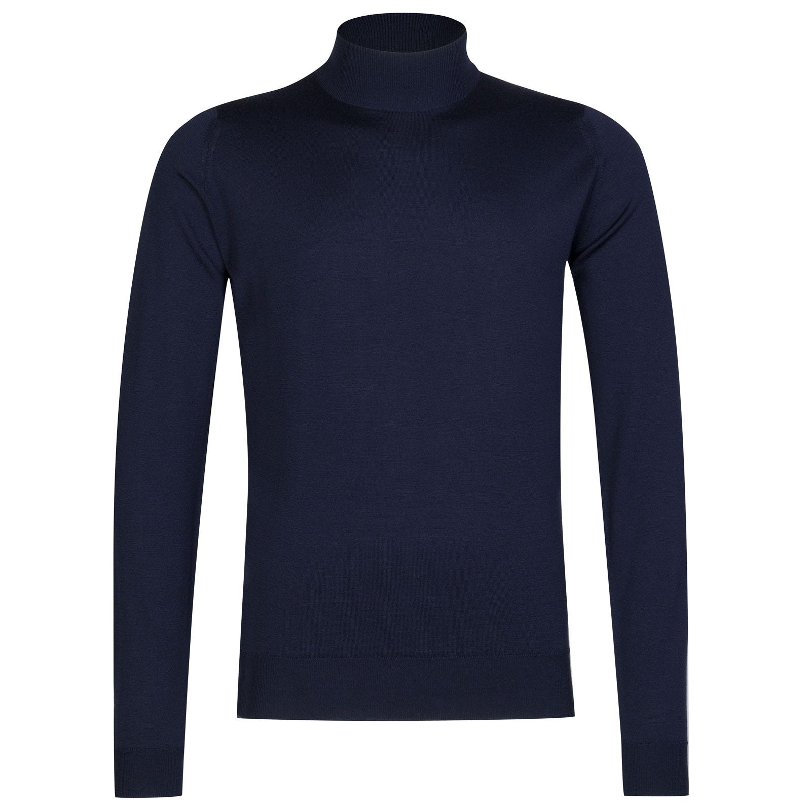 John Smedley harcourt Merino Wool Pullover in Midnight-L