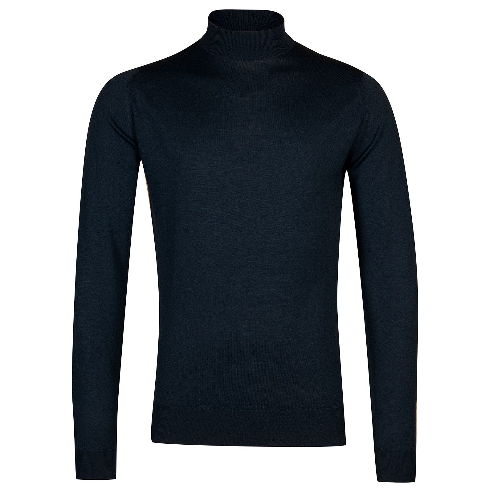 John Smedley Harcourt Merino Wool Pullover in Orion Green-S