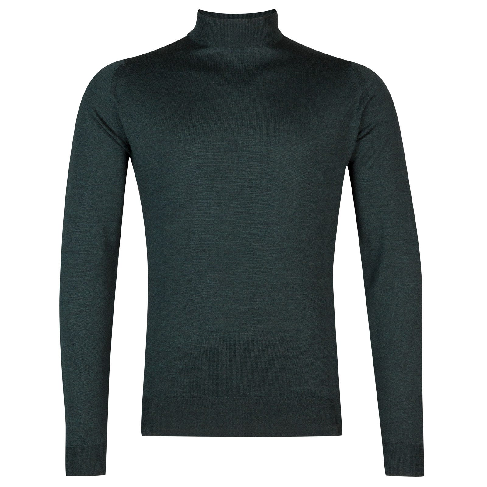 John Smedley harcourt Merino Wool Pullover in Racing Green-L