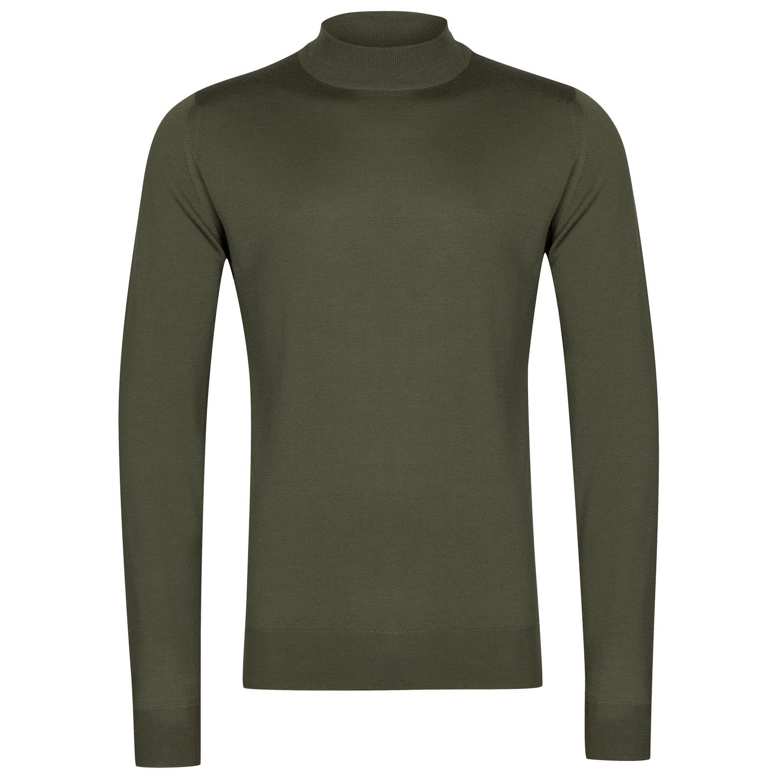 John Smedley Harcourt in Sepal Green Pullover-XLG