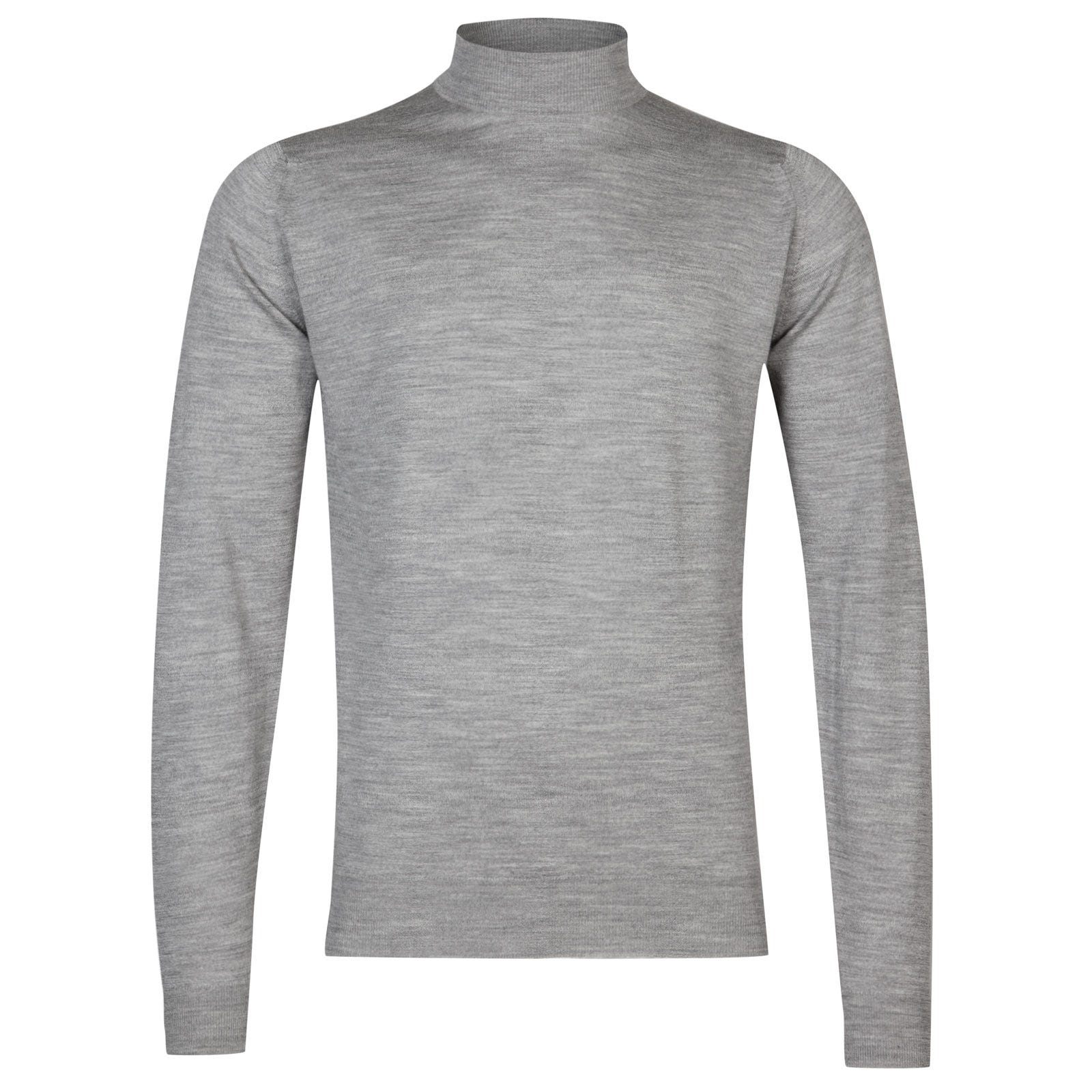 John Smedley harcourt Merino Wool Pullover in Silver-L