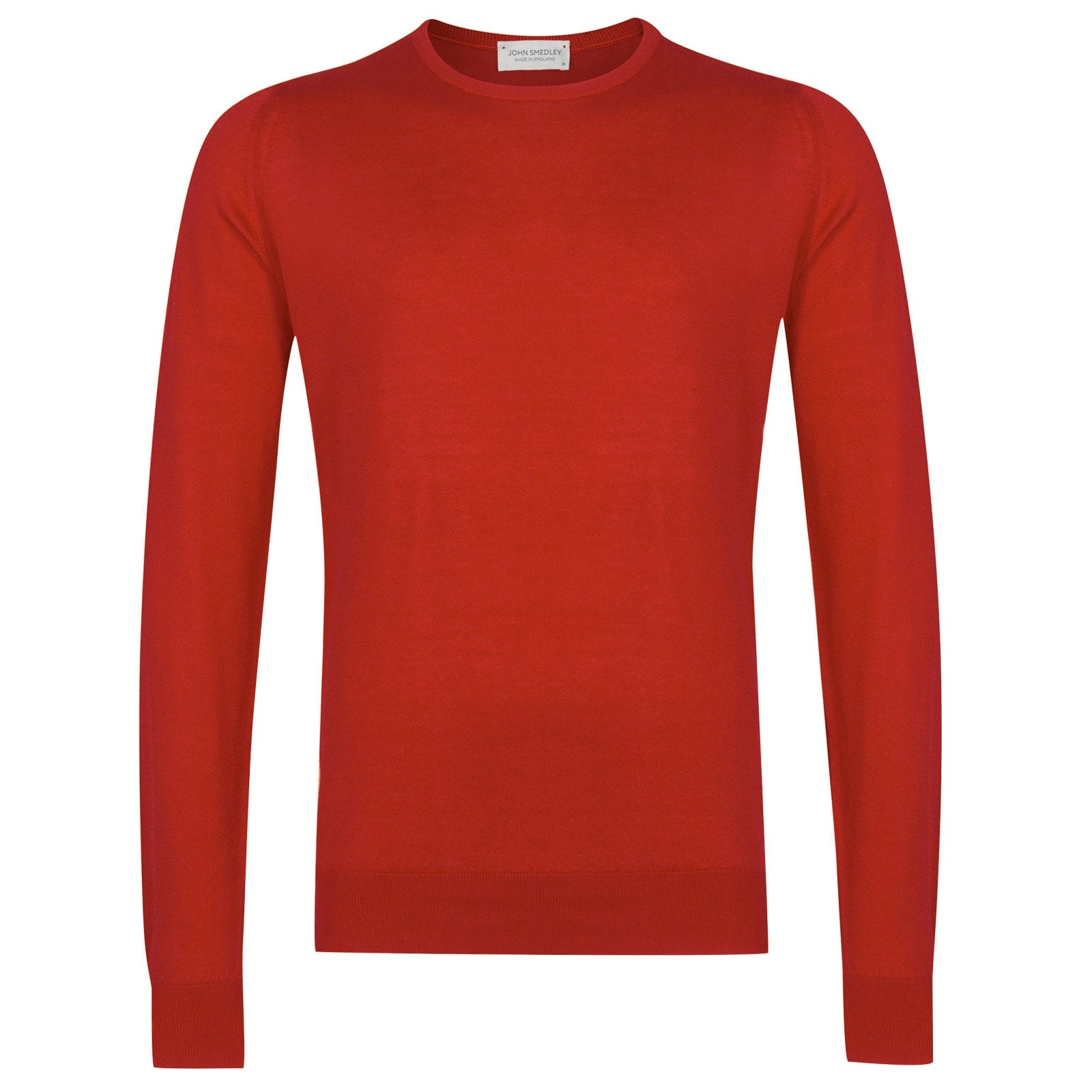 John Smedley Hatfield in Red Admiral Pullover-XXL