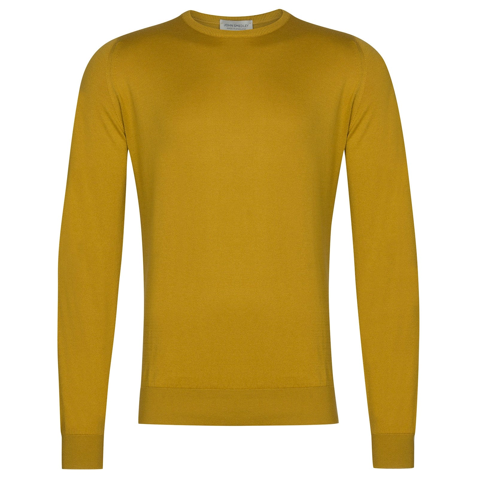 John Smedley Hatfield in Stamen Yellow Pullover-XLG