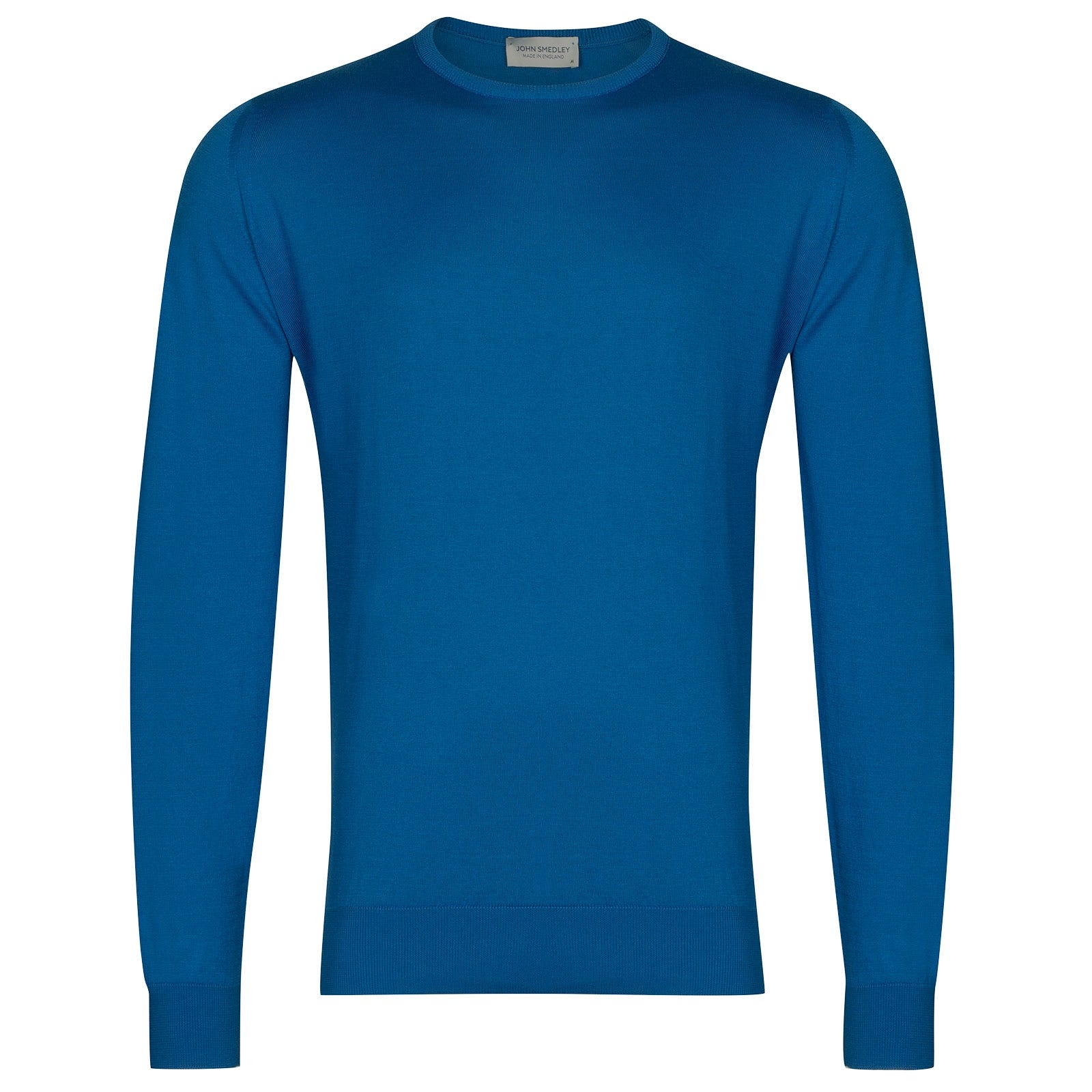 John Smedley Hatfield in Statice Blue Pullover-XLG