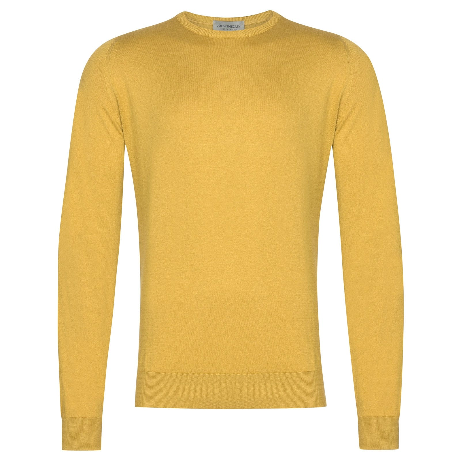 John Smedley Hatfield in Yellow Bloom Pullover-LGE