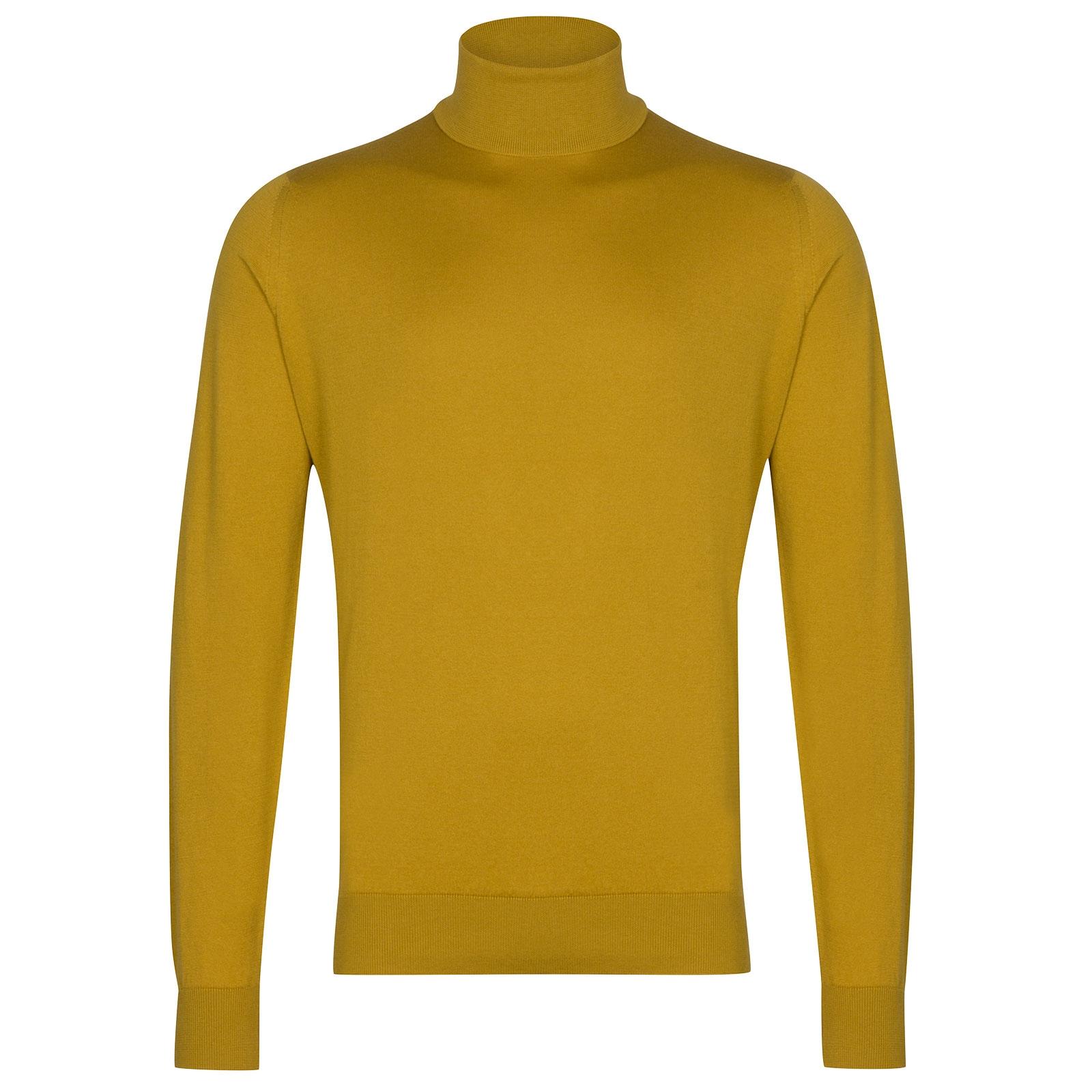 John Smedley Hawley in Stamen Yellow Pullover-XXL