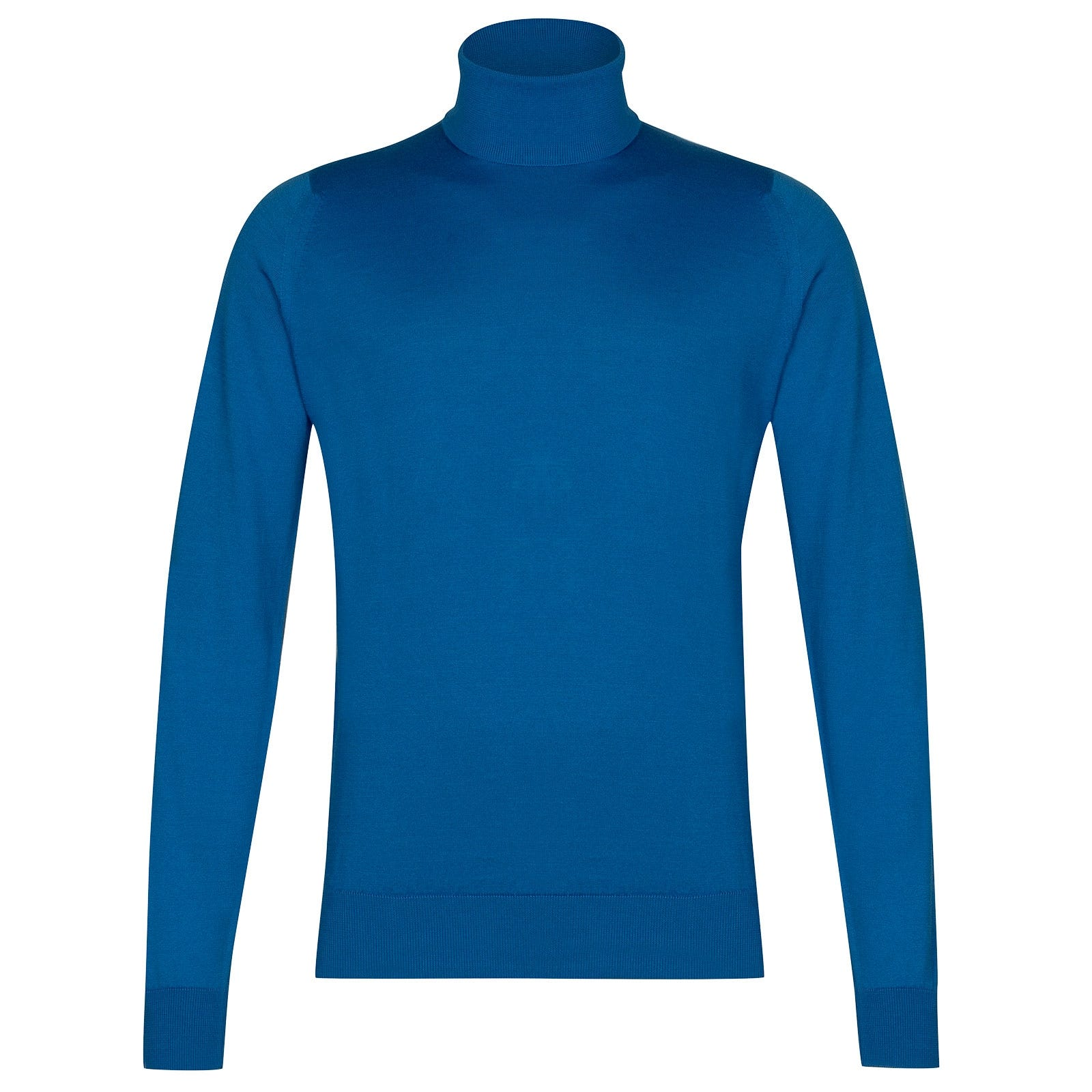 John Smedley Hawley in Statice Blue Pullover-XLG