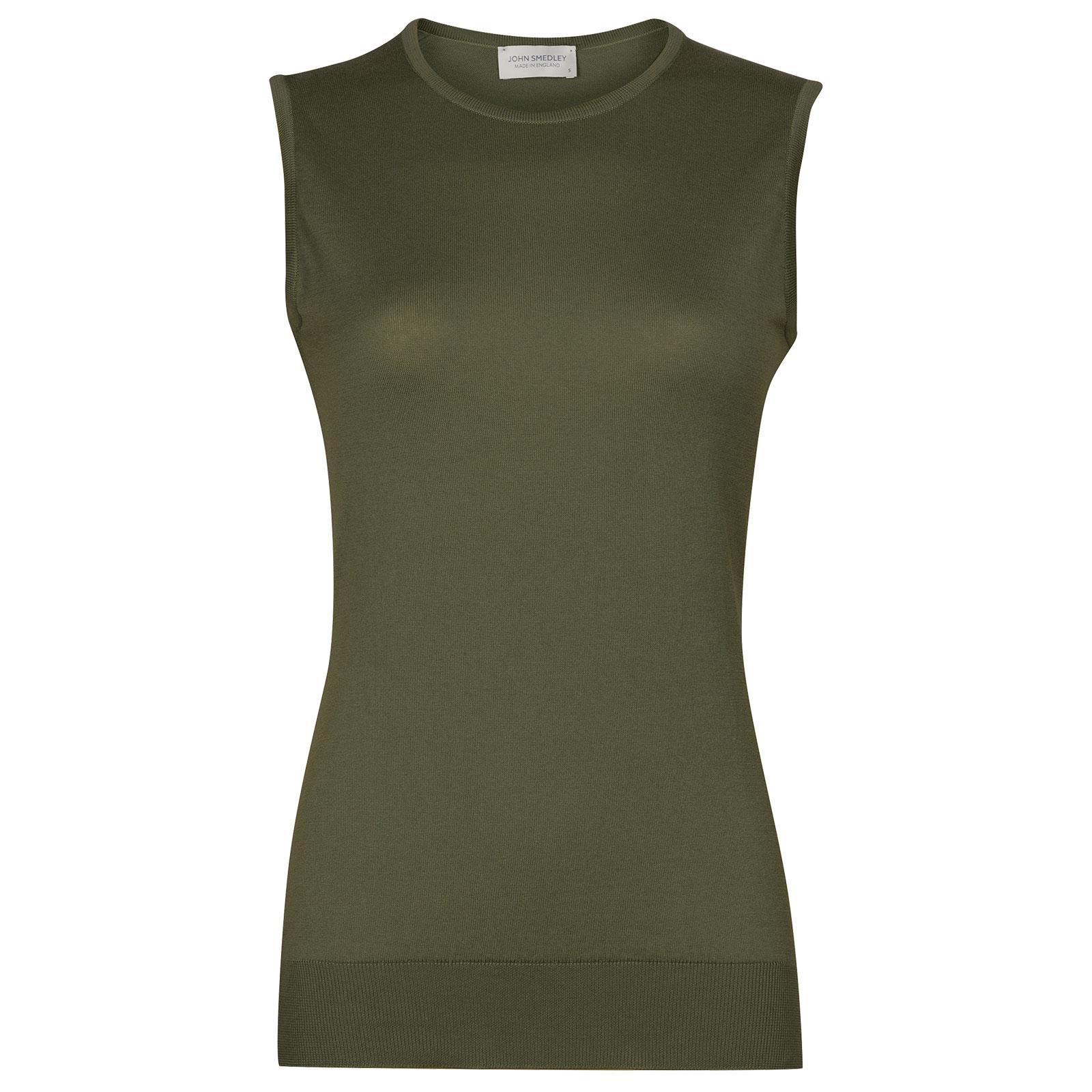 John Smedley Highgate in Sepal Green Sweater-MED