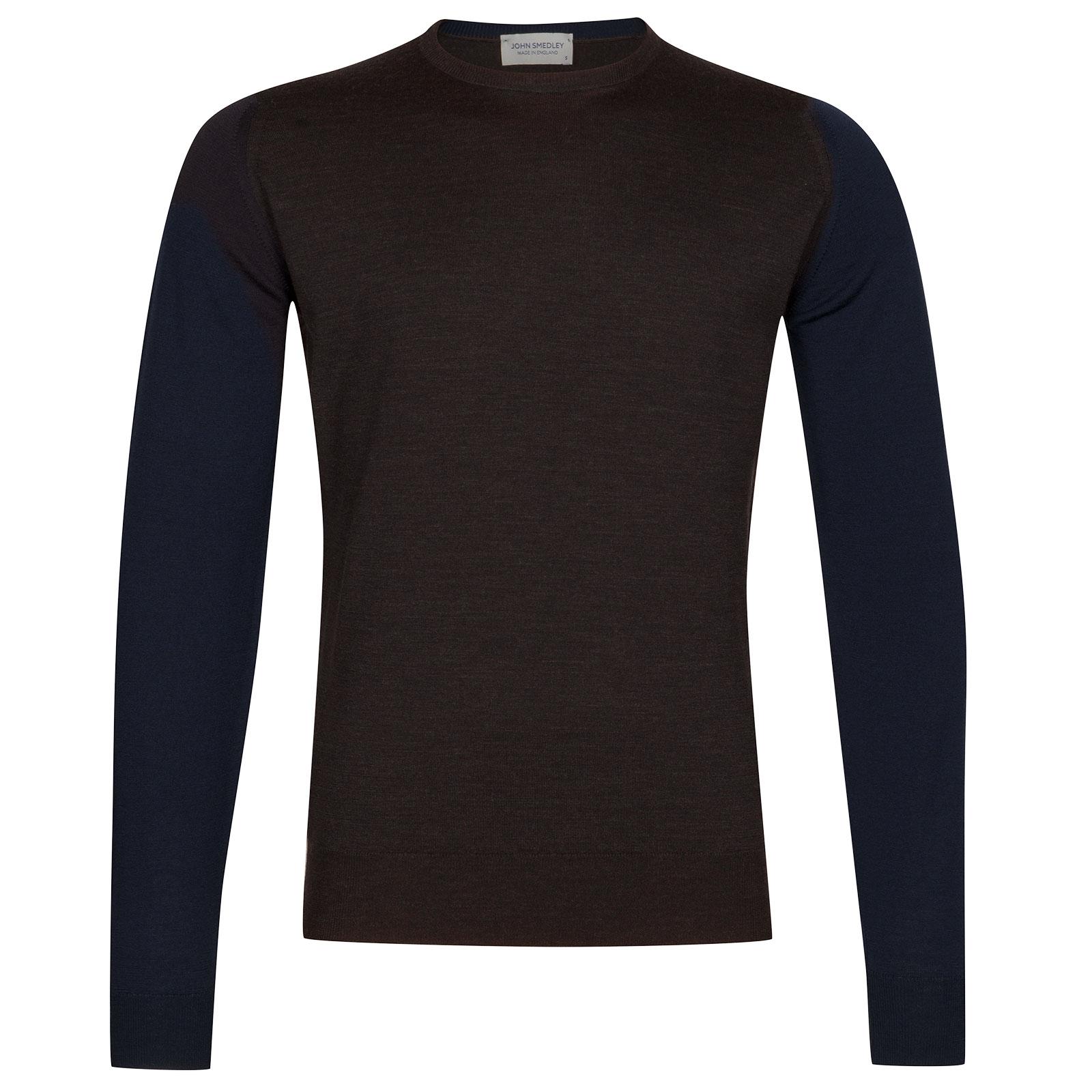 John Smedley Hindlow Extra Fine Merino Wool Pullover in Hepburn