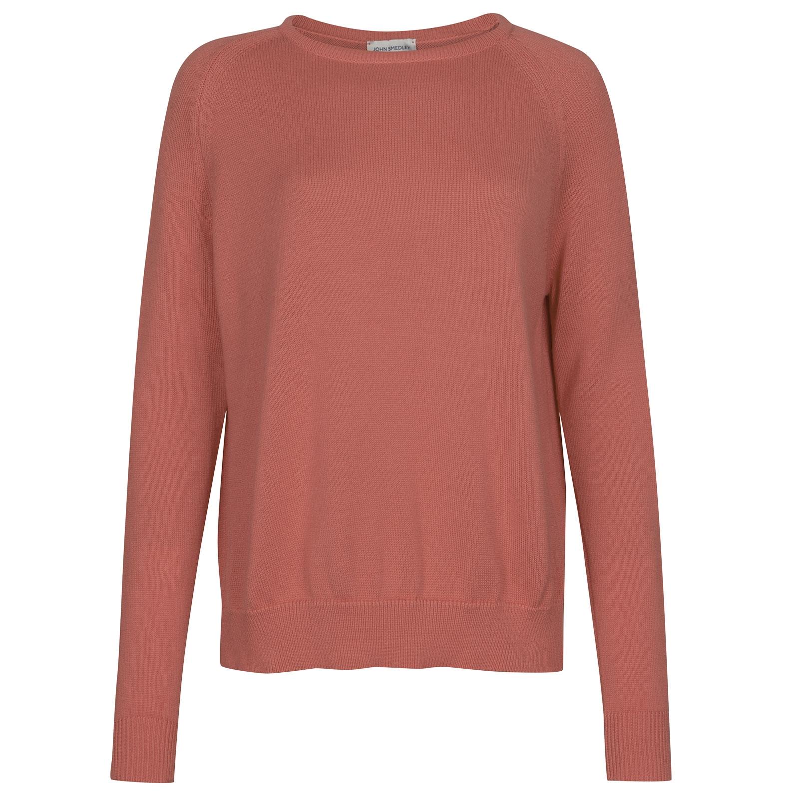 John Smedley Hoxton in Azalea Pink Sweater-LGE