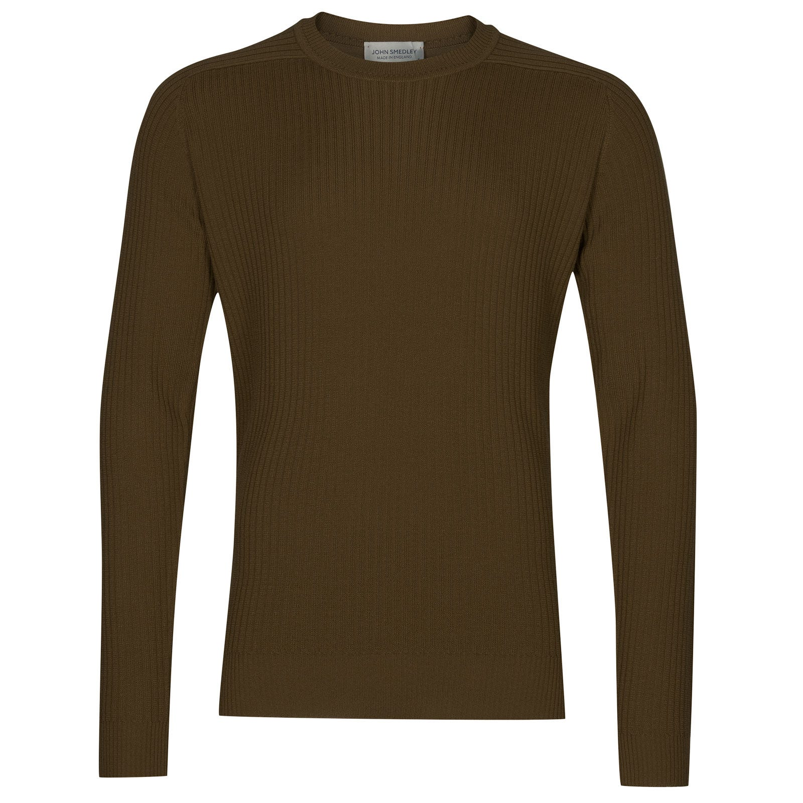John Smedley idris Merino Wool Pullover in Kielder Green-M