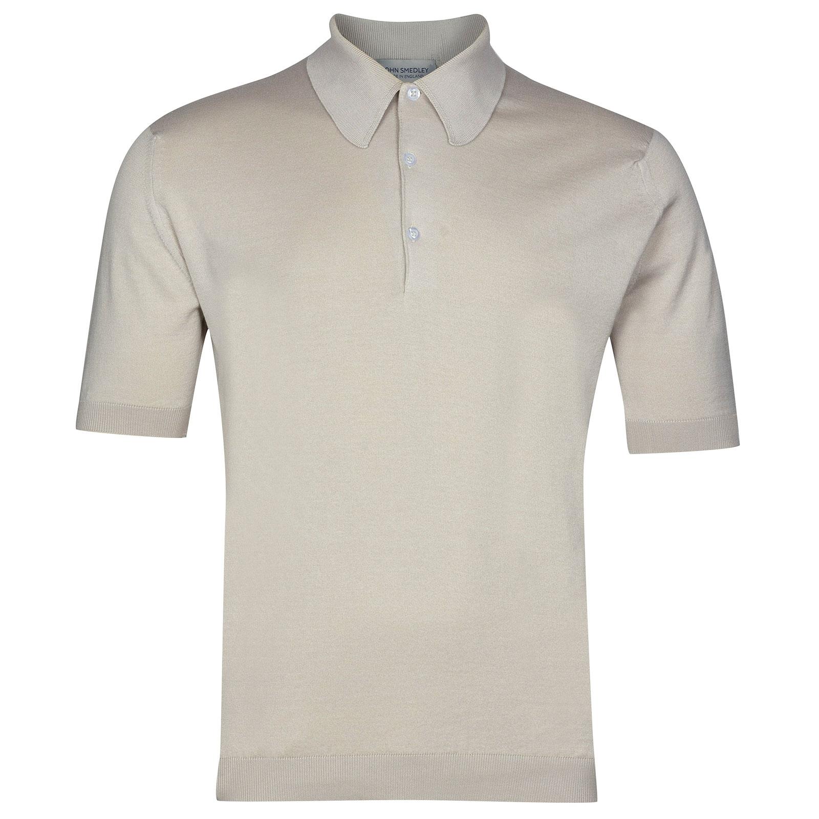 John Smedley Isis in Brunel Beige Shirt-XSM
