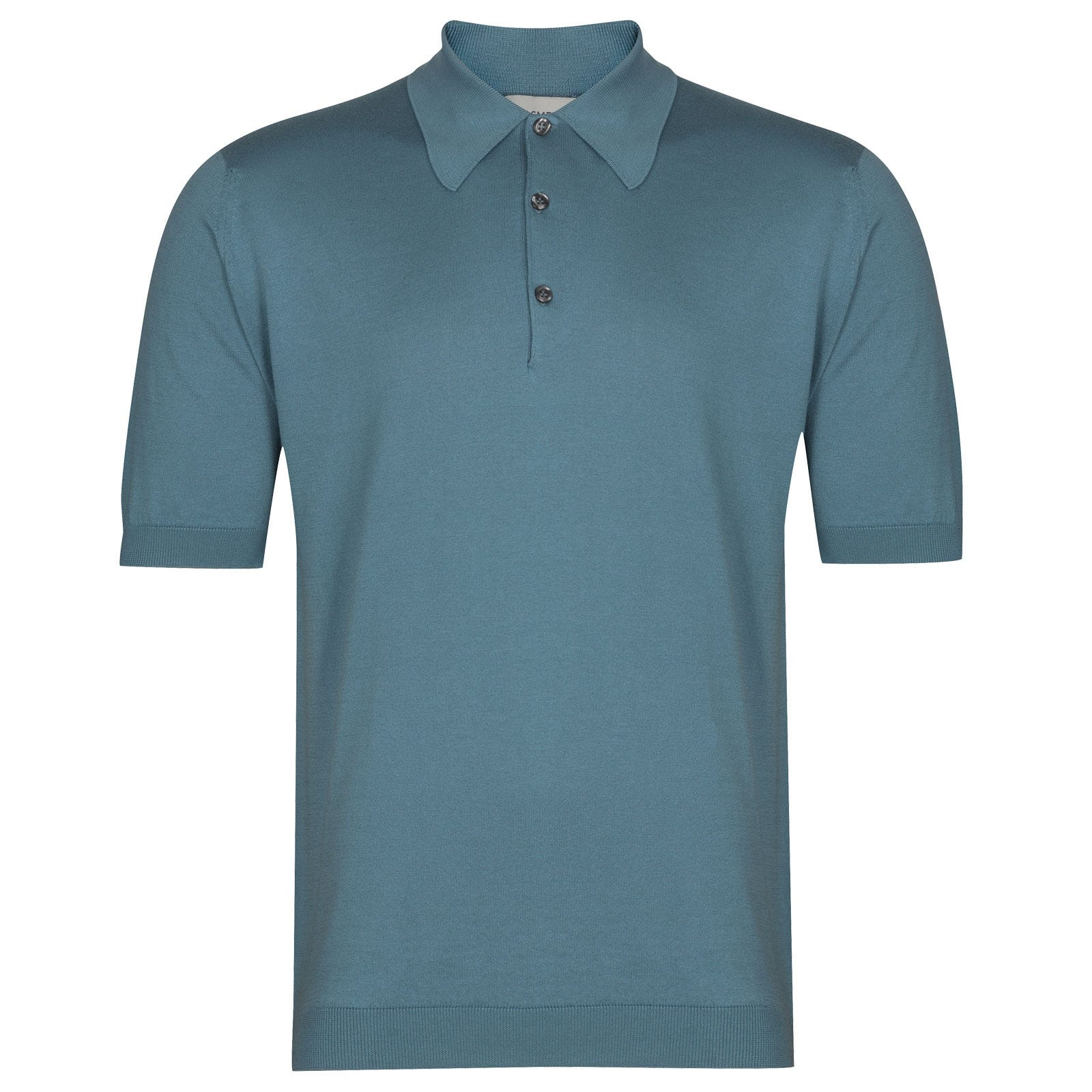 John Smedley Isis in Dewdrop Blue Shirt-LGE